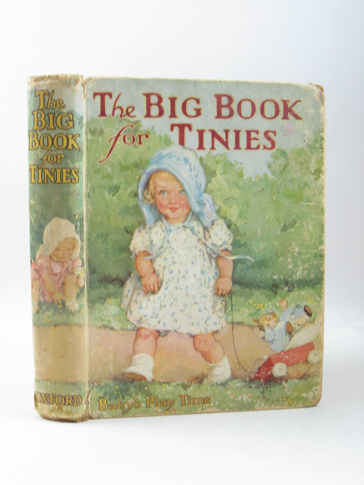 Photo of THE BIG BOOK FOR TINIES written by Strang, Mrs. Herbert illustrated by Sowerby, Millicent<br />Browne, Enid Warne<br />Butler, B.<br />et al., published by Humphrey Milford, Oxford University Press (STOCK CODE: 1503943)  for sale by Stella & Rose's Books