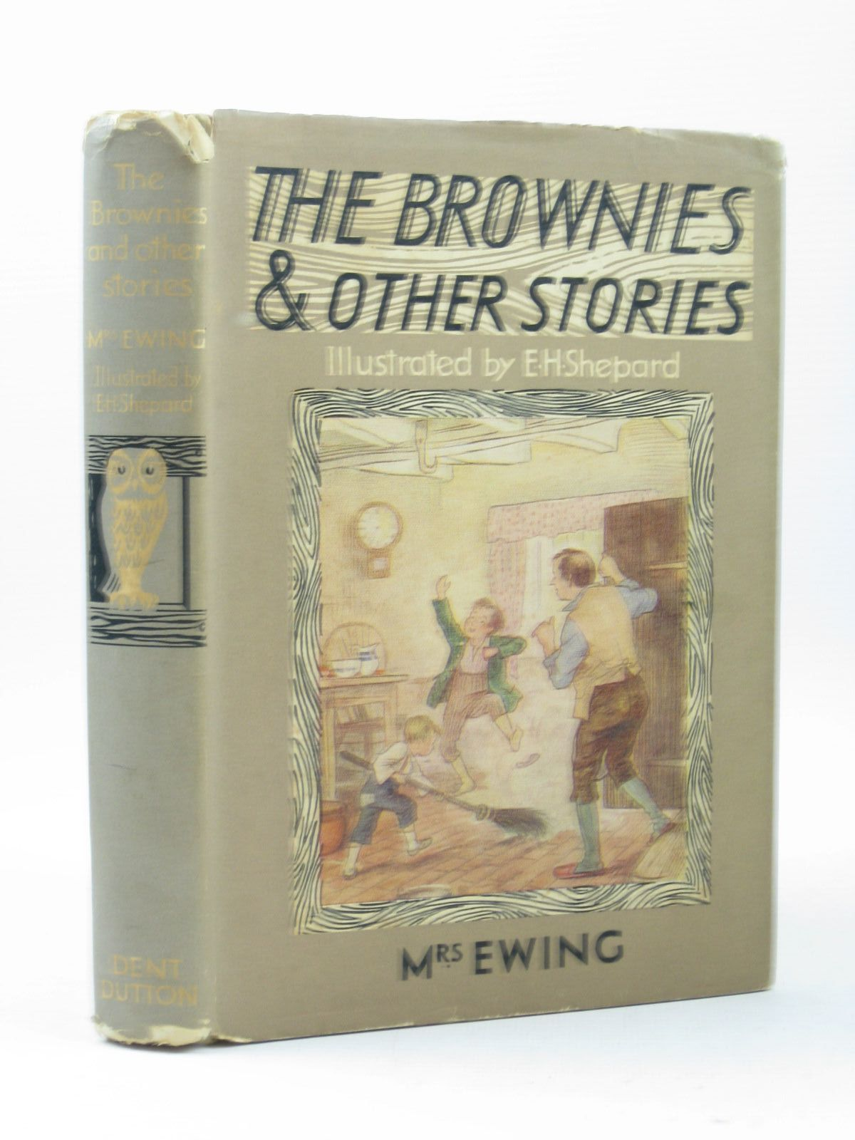 Photo of THE BROWNIES AND OTHER STORIES written by Ewing, Juliana Horatia illustrated by Shepard, E.H. published by J.M. Dent & Sons Ltd. (STOCK CODE: 1503984)  for sale by Stella & Rose's Books