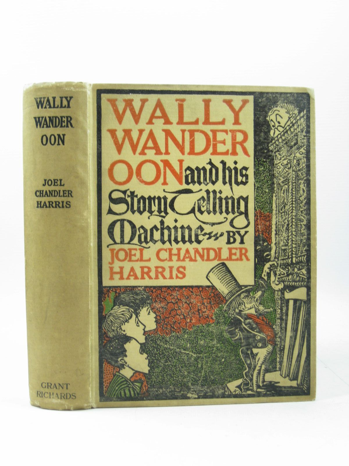 Photo of WALLY WANDEROON AND HIS STORYTELLING MACHINE written by Harris, Joel Chandler illustrated by Moseley, Karl published by Grant Richards (STOCK CODE: 1504003)  for sale by Stella & Rose's Books