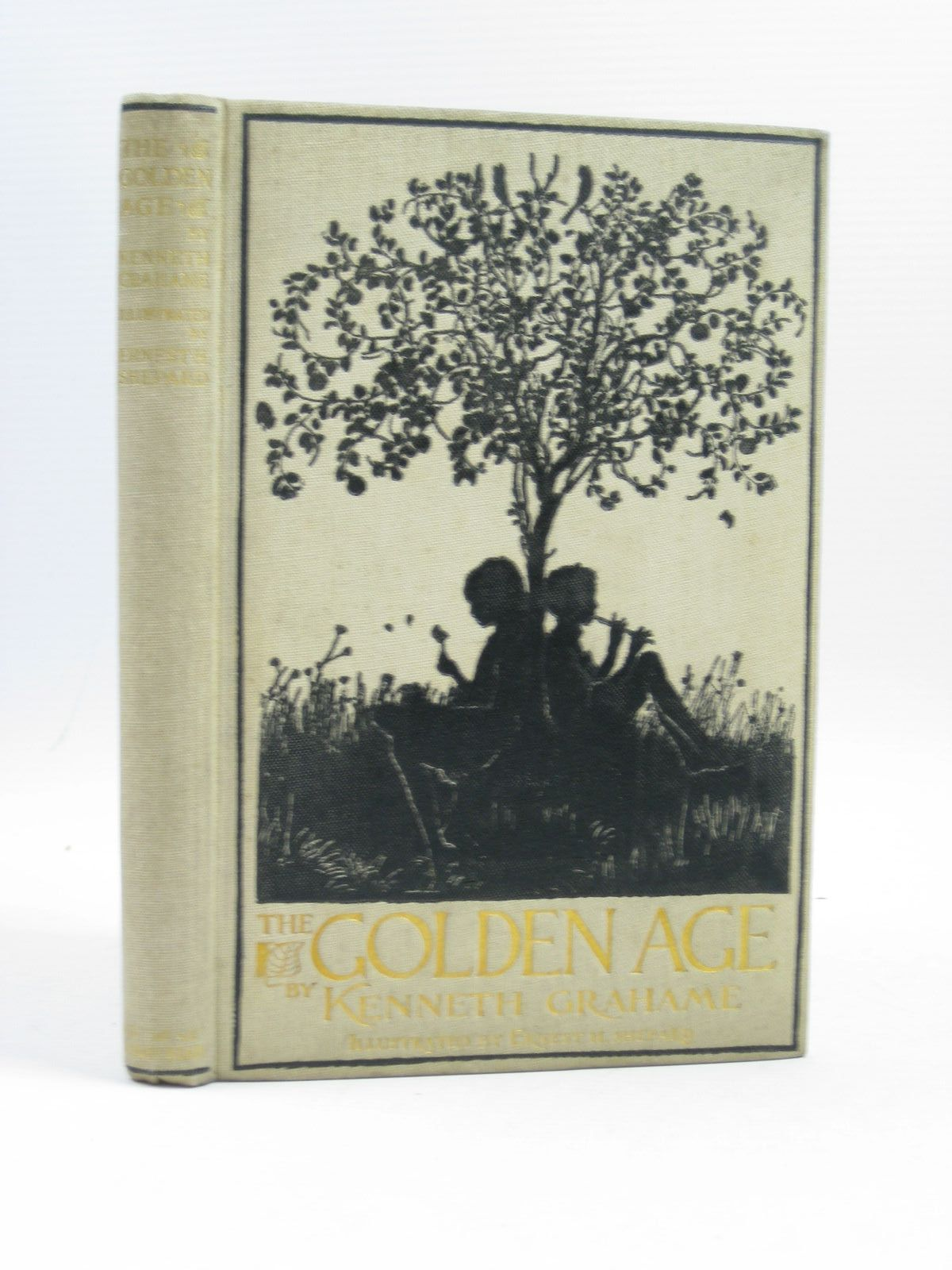 Photo of THE GOLDEN AGE written by Grahame, Kenneth illustrated by Shepard, E.H. published by John Lane The Bodley Head (STOCK CODE: 1504040)  for sale by Stella & Rose's Books
