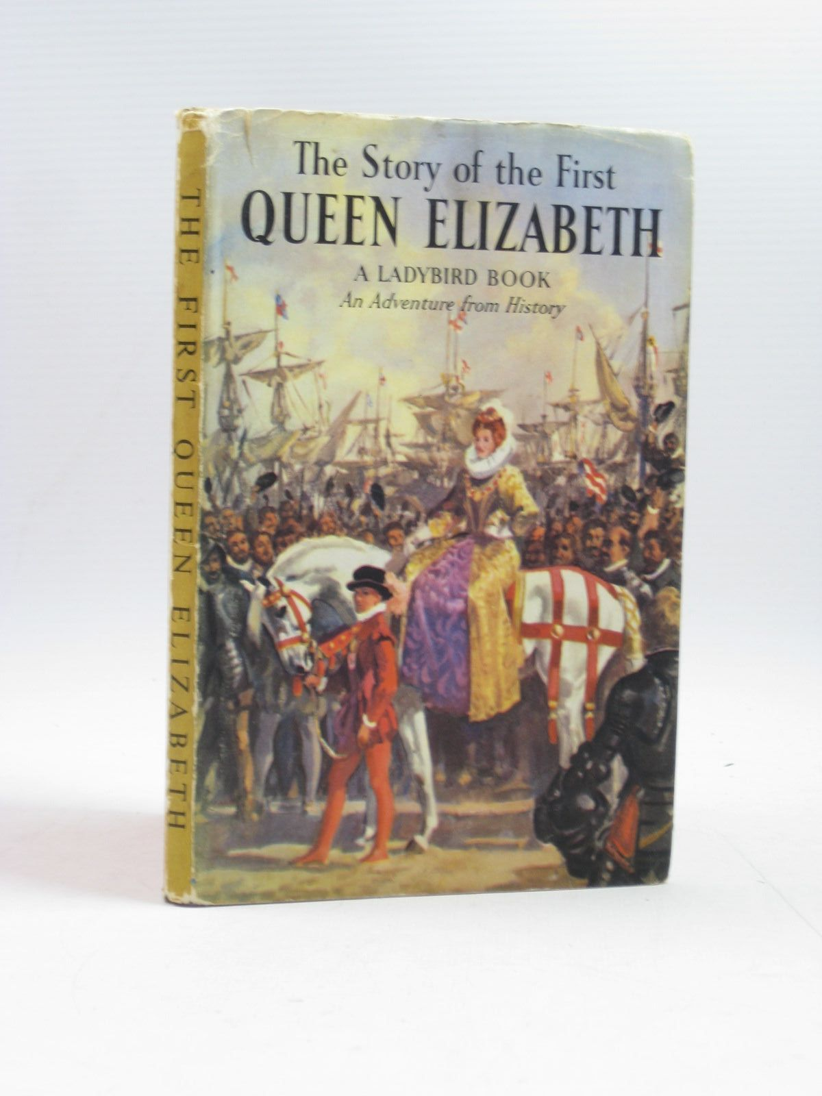 Photo of THE STORY OF THE FIRST QUEEN ELIZABETH written by Peach, L. Du Garde illustrated by Kenney, John published by Wills & Hepworth Ltd. (STOCK CODE: 1504060)  for sale by Stella & Rose's Books