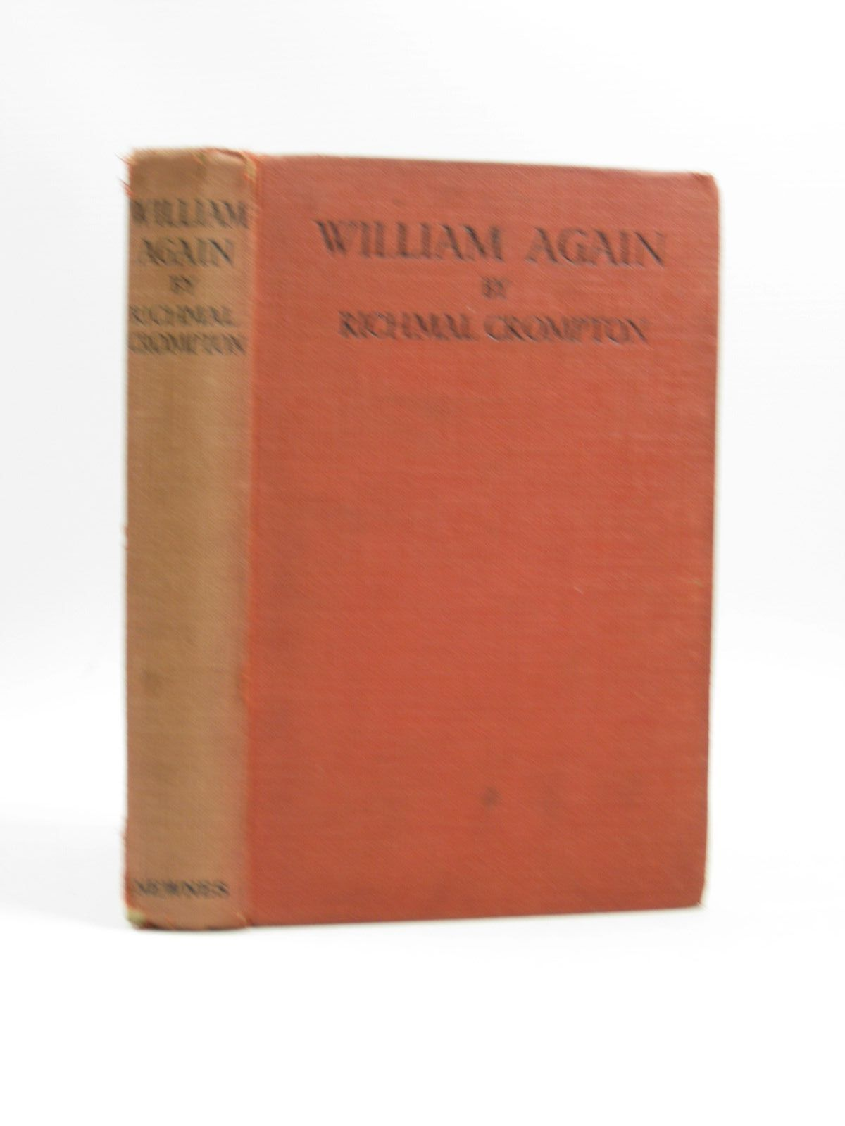 Photo of WILLIAM AGAIN written by Crompton, Richmal illustrated by Henry, Thomas published by George Newnes Limited (STOCK CODE: 1504083)  for sale by Stella & Rose's Books