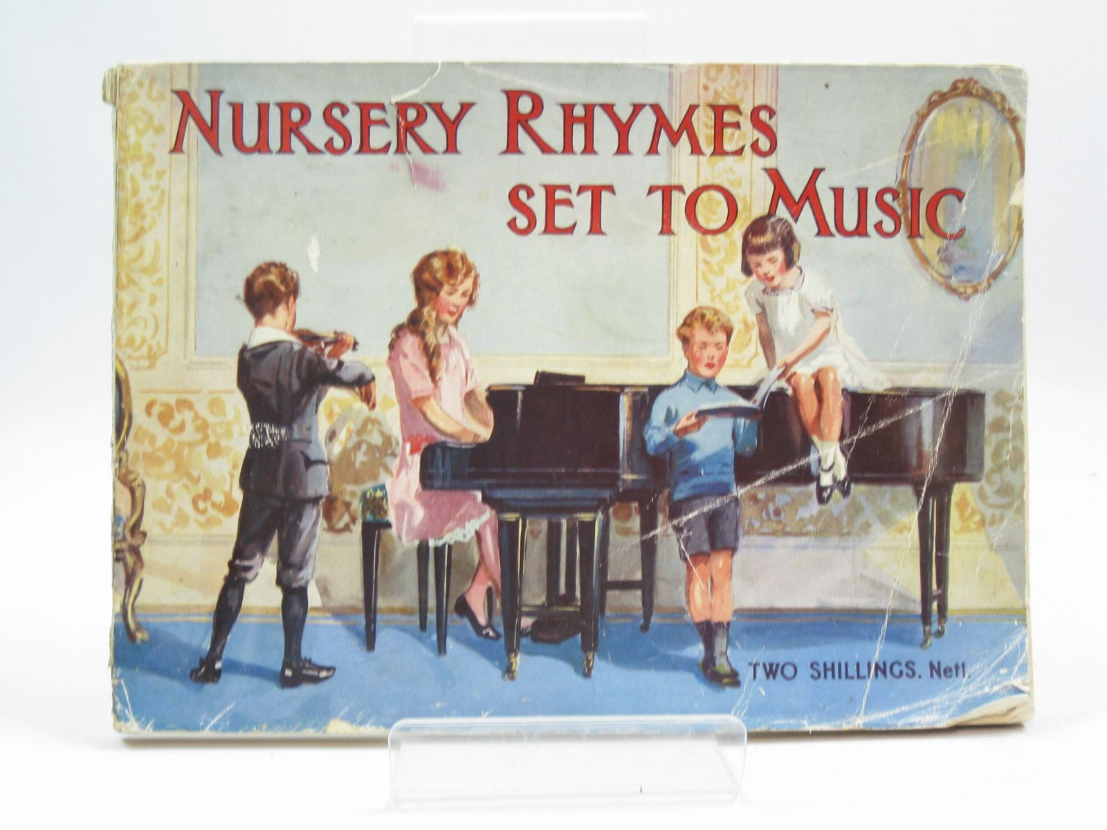 Photo of NURSERY RHYMES SET TO MUSIC published by The Aldine Publishing Co. Ltd. (STOCK CODE: 1504192)  for sale by Stella & Rose's Books