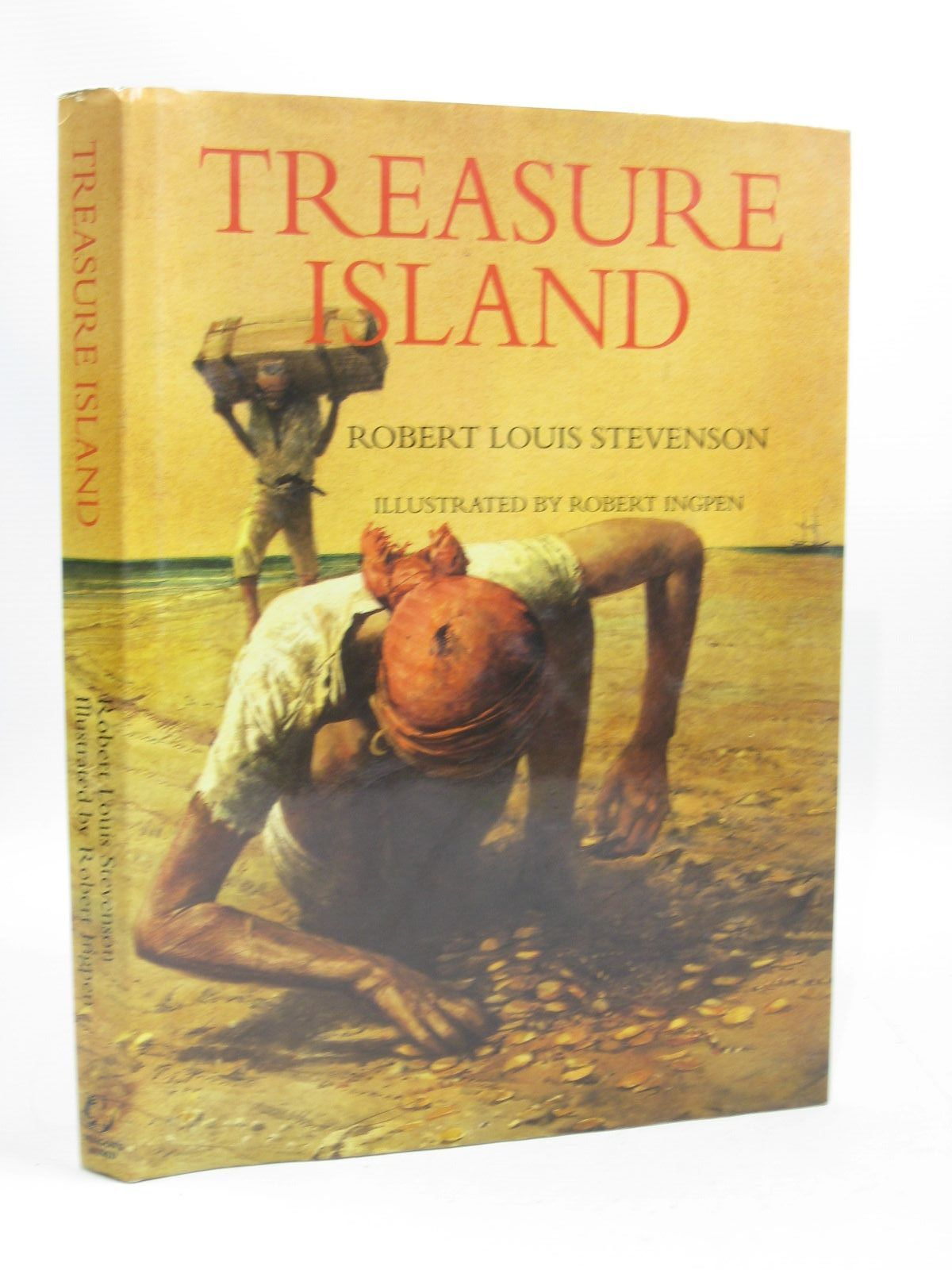Photo of TREASURE ISLAND written by Stevenson, Robert Louis illustrated by Ingpen, Robert published by Dragon's World (STOCK CODE: 1504389)  for sale by Stella & Rose's Books