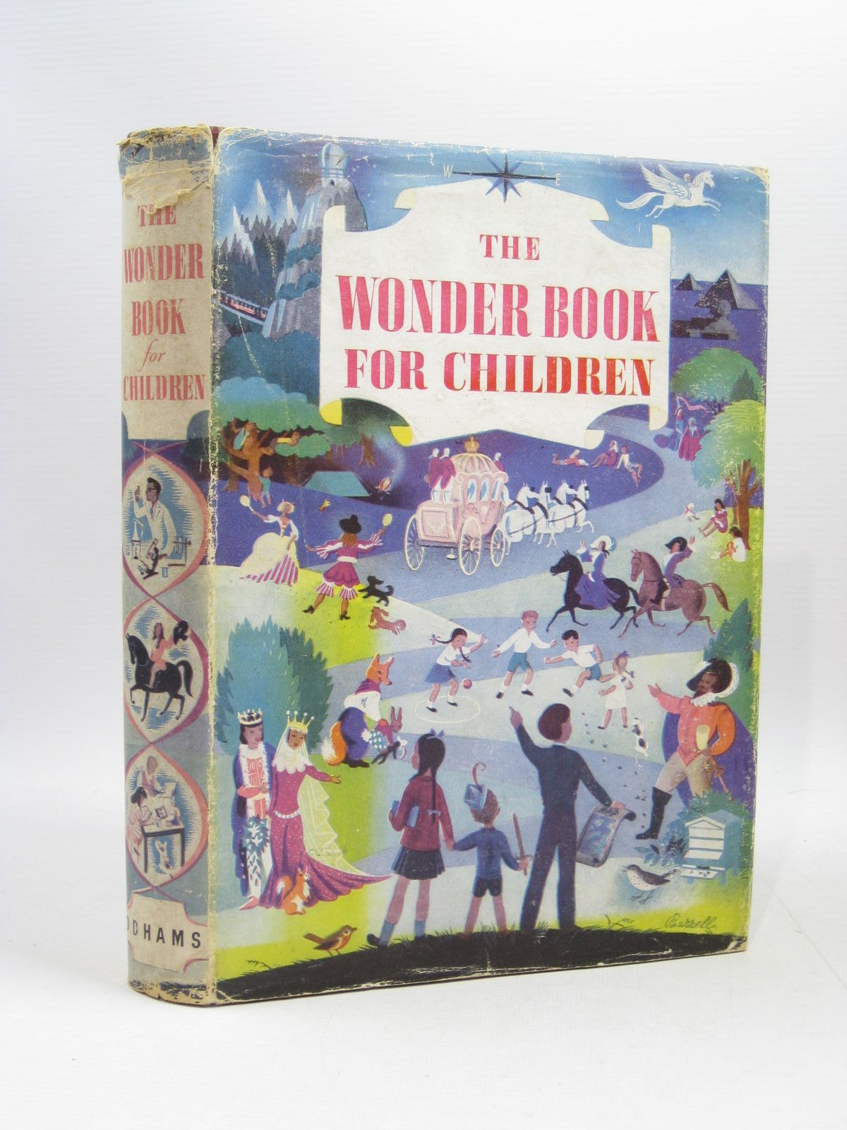 Photo of THE WONDER BOOK FOR CHILDREN written by Blyton, Enid Brisley, Joyce Lankester Saville, Malcolm et al,  illustrated by Soper, Eileen Nickless, Will et al.,  published by Odhams Press Limited (STOCK CODE: 1504399)  for sale by Stella & Rose's Books