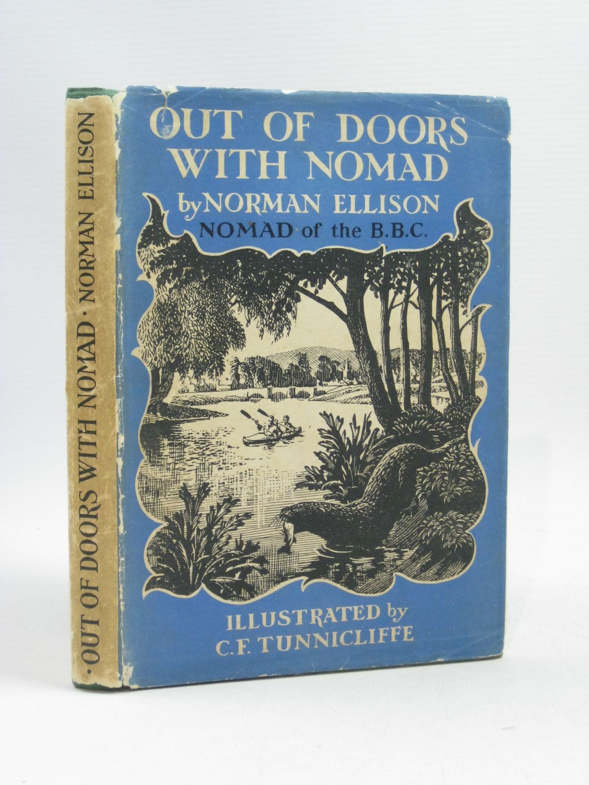 Photo of OUT OF DOORS WITH NOMAD written by Ellison, Norman illustrated by Tunnicliffe, C.F. published by University of London Press Ltd. (STOCK CODE: 1504419)  for sale by Stella & Rose's Books