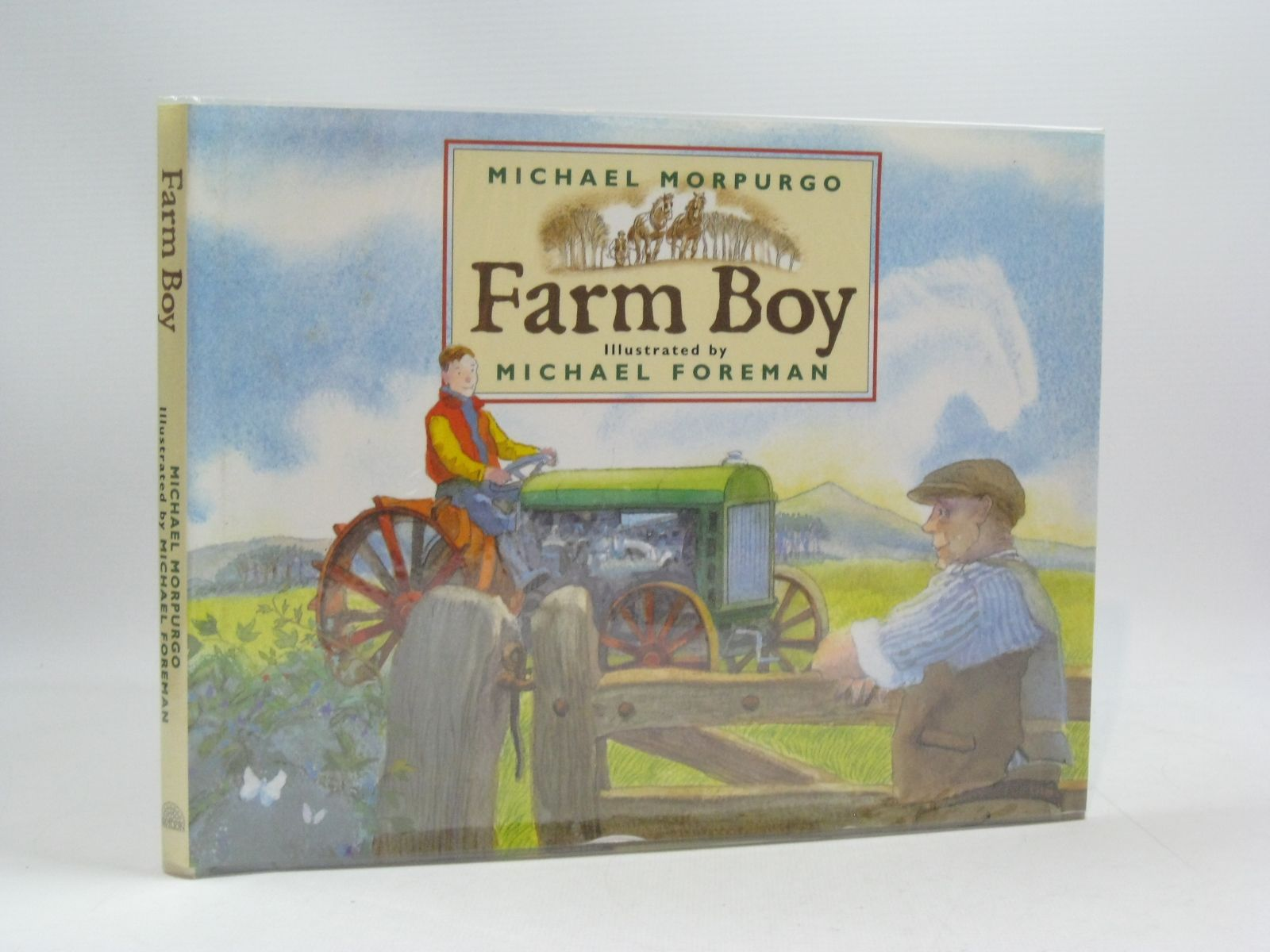 Photo of FARM BOY written by Morpurgo, Michael illustrated by Foreman, Michael published by Pavilion (STOCK CODE: 1504441)  for sale by Stella & Rose's Books