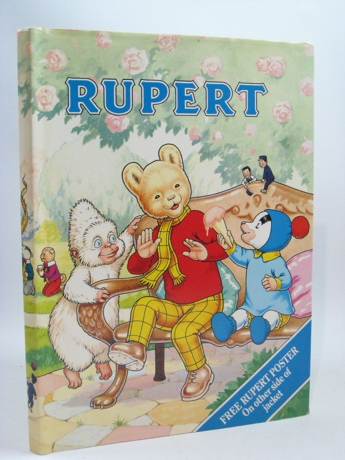 Photo of RUPERT ANNUAL 1990 written by Henderson, James illustrated by Harrold, John published by Daily Express (STOCK CODE: 1504771)  for sale by Stella & Rose's Books