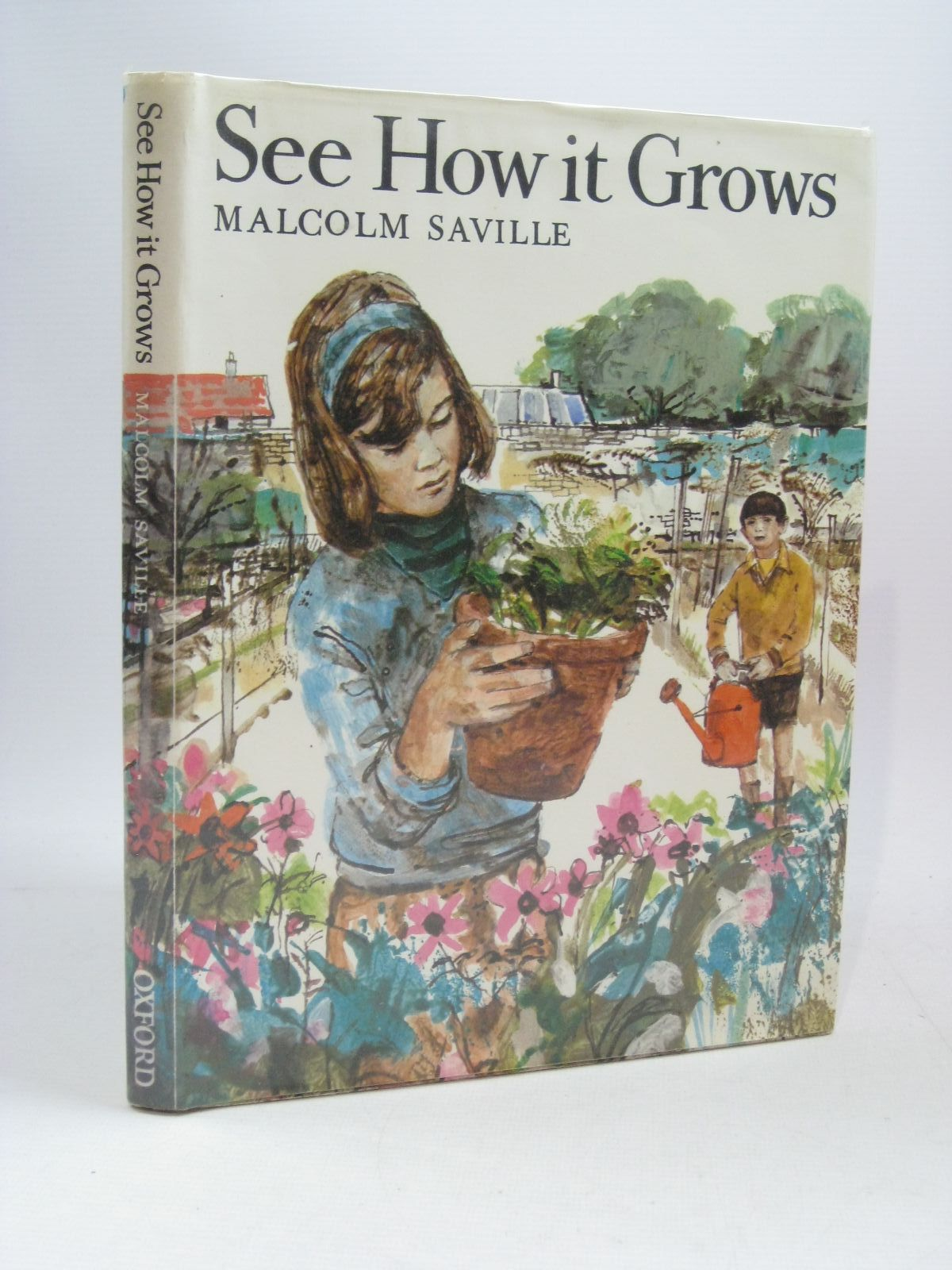 Photo of SEE HOW IT GROWS written by Saville, Malcolm illustrated by Micklewright, Robert published by Oxford University Press (STOCK CODE: 1504788)  for sale by Stella & Rose's Books