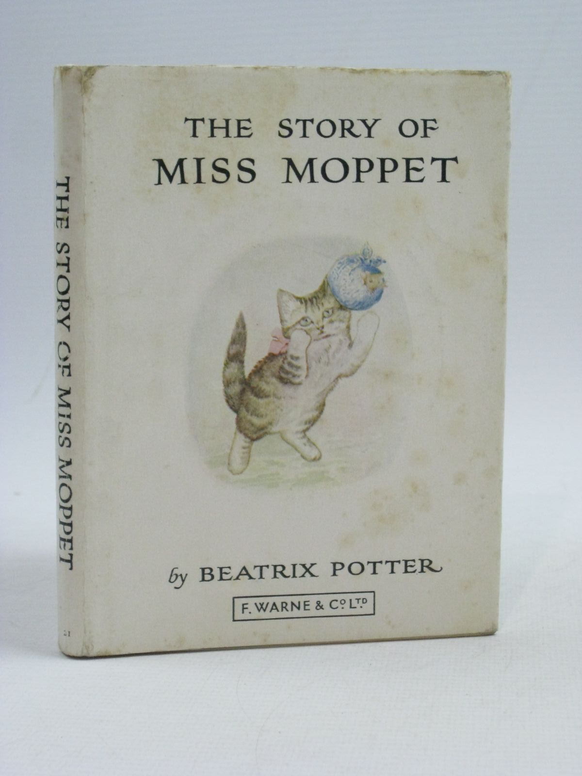 Photo of THE STORY OF MISS MOPPET written by Potter, Beatrix illustrated by Potter, Beatrix published by Frederick Warne & Co Ltd. (STOCK CODE: 1504915)  for sale by Stella & Rose's Books