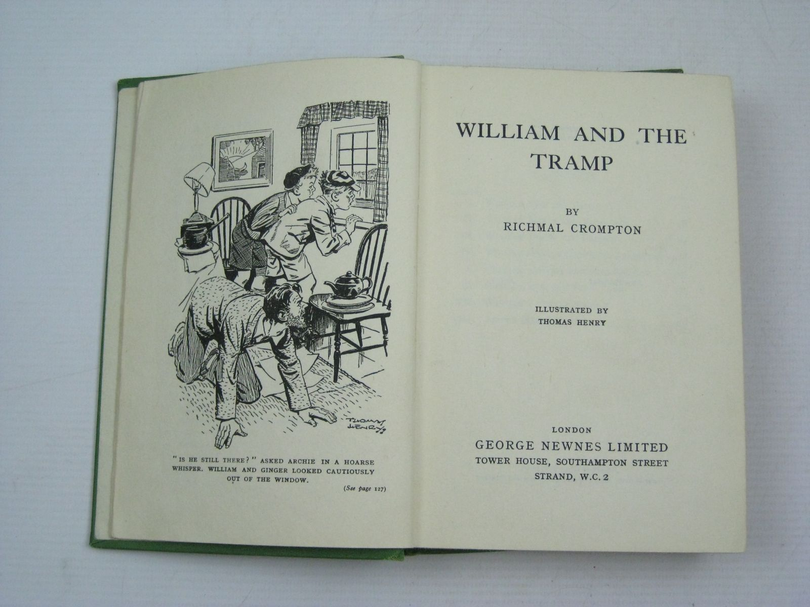 Photo of WILLIAM AND THE TRAMP- Stock Number: 1504938