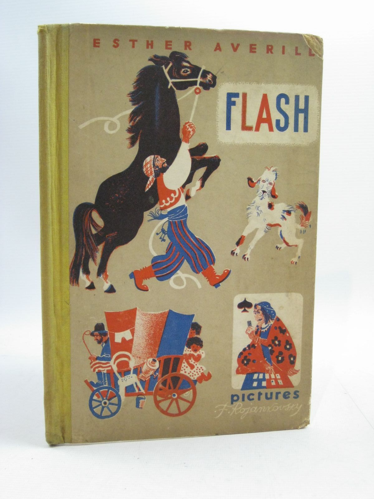 Photo of FLASH written by Averill, Esther illustrated by Rojankovsky, F. published by Faber & Faber Limited (STOCK CODE: 1505063)  for sale by Stella & Rose's Books