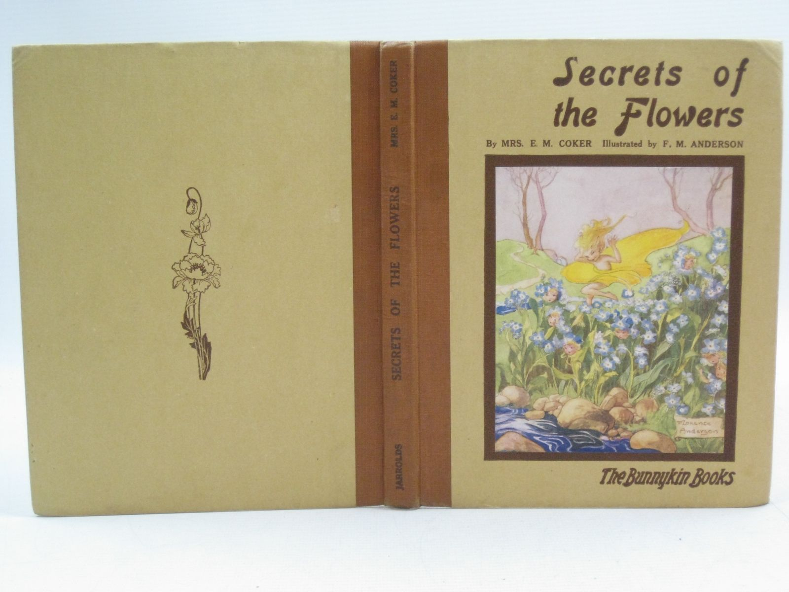 Photo of SECRETS OF THE FLOWERS written by Coker, Mrs. E.M. illustrated by Anderson, Florence Mary published by Jarrolds Publishers (STOCK CODE: 1505065)  for sale by Stella & Rose's Books
