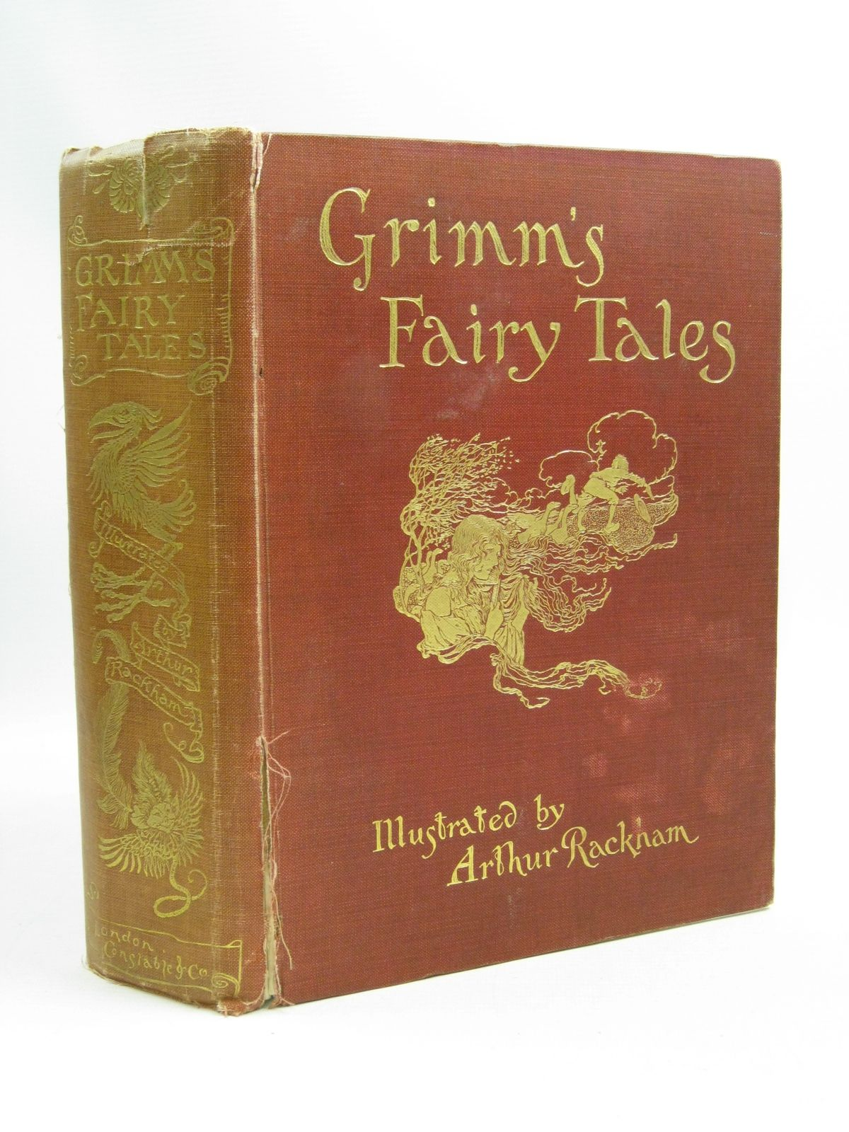 Photo of THE FAIRY TALES OF THE BROTHERS GRIMM written by Grimm, Brothers illustrated by Rackham, Arthur published by Constable and Company Ltd. (STOCK CODE: 1505117)  for sale by Stella & Rose's Books