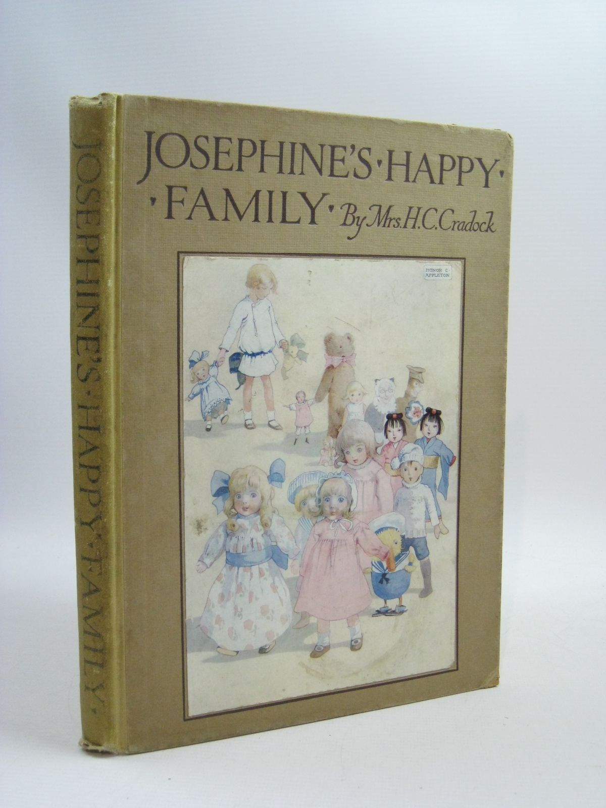 Photo of JOSEPHINE'S HAPPY FAMILY written by Cradock, Mrs. H.C. illustrated by Appleton, Honor C. published by Blackie & Son Ltd. (STOCK CODE: 1505133)  for sale by Stella & Rose's Books