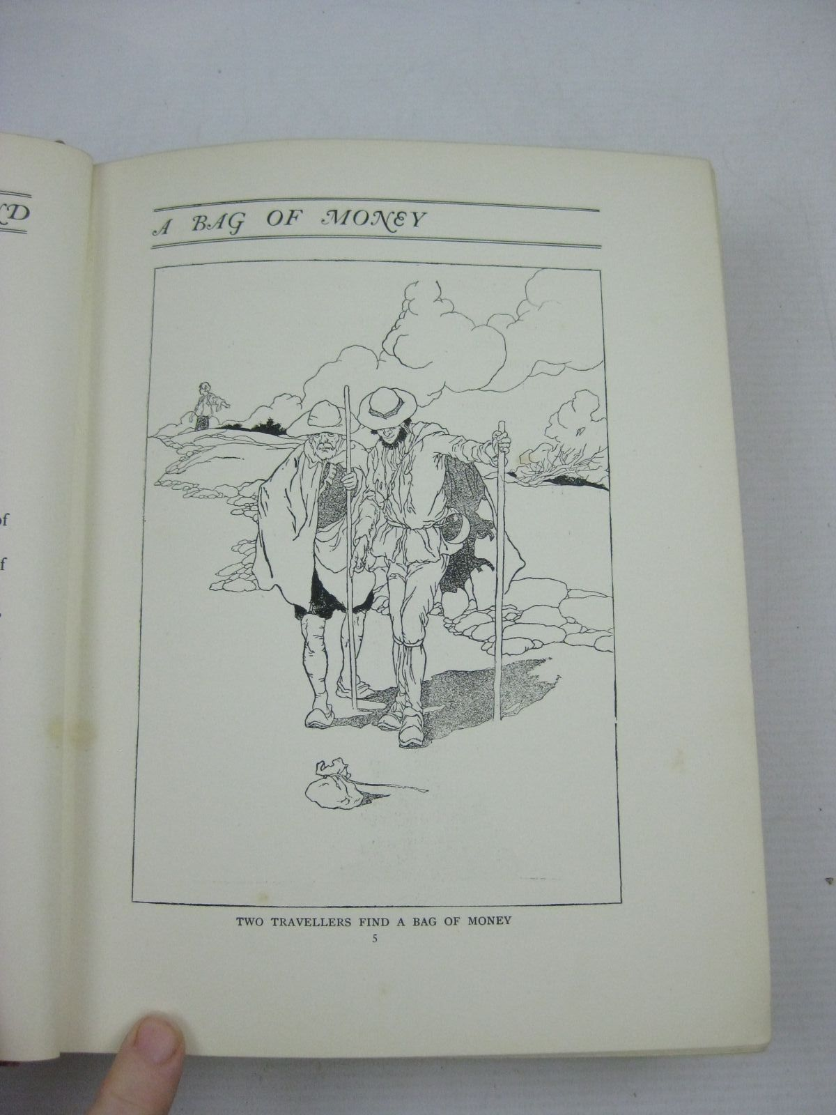 Photo of THE BIG BOOK OF FABLES written by Jerrold, Walter illustrated by Robinson, Charles published by Blackie & Son Ltd. (STOCK CODE: 1505140)  for sale by Stella & Rose's Books