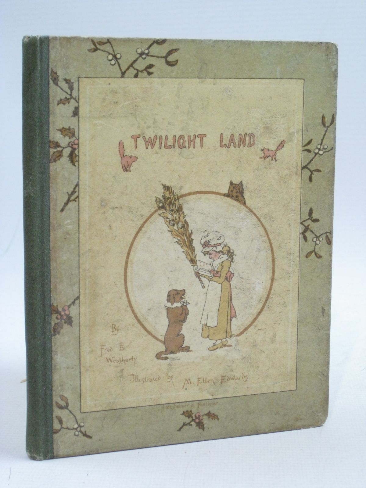 Photo of TWILIGHT LAND written by Weatherly, F.E. illustrated by Edwards, M. Ellen Staples, John C. published by Hildesheimer & Faulkner (STOCK CODE: 1505167)  for sale by Stella & Rose's Books