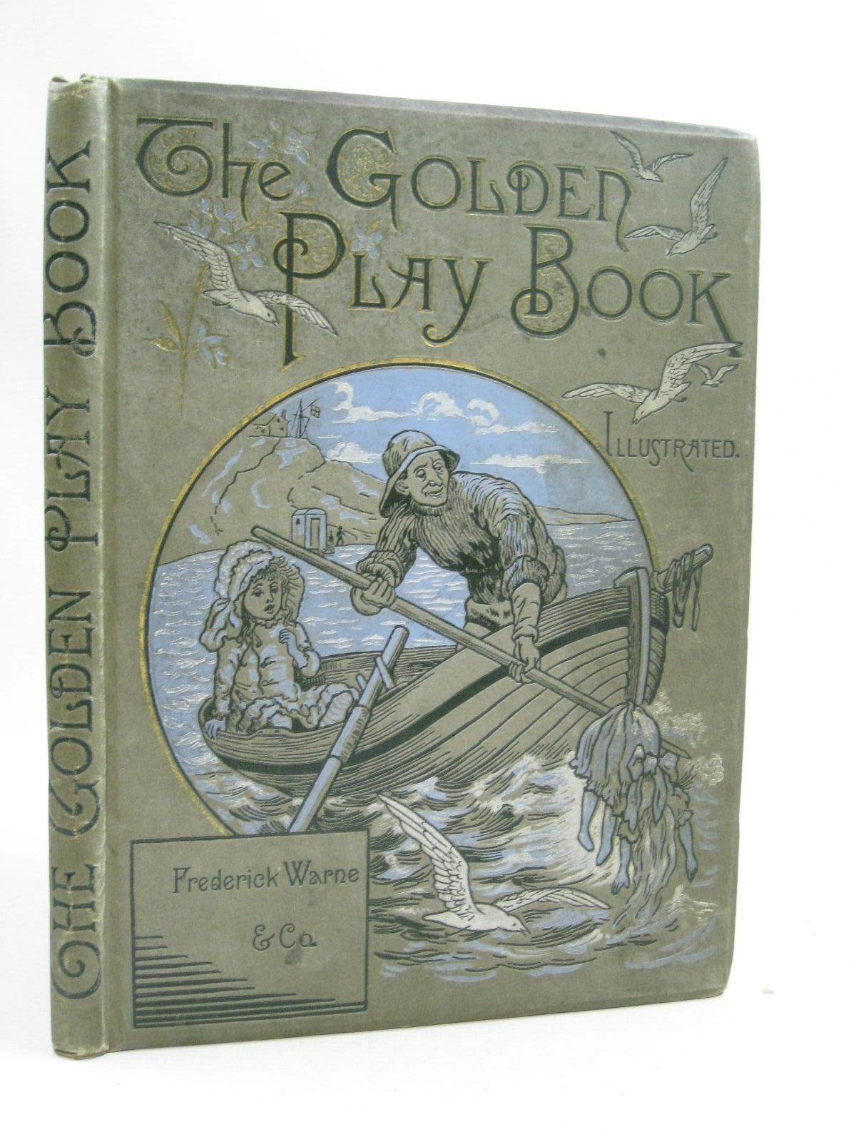 Photo of THE GOLDEN PLAYBOOK illustrated by Johnson, Alfred J. published by Frederick Warne & Co. (STOCK CODE: 1505197)  for sale by Stella & Rose's Books