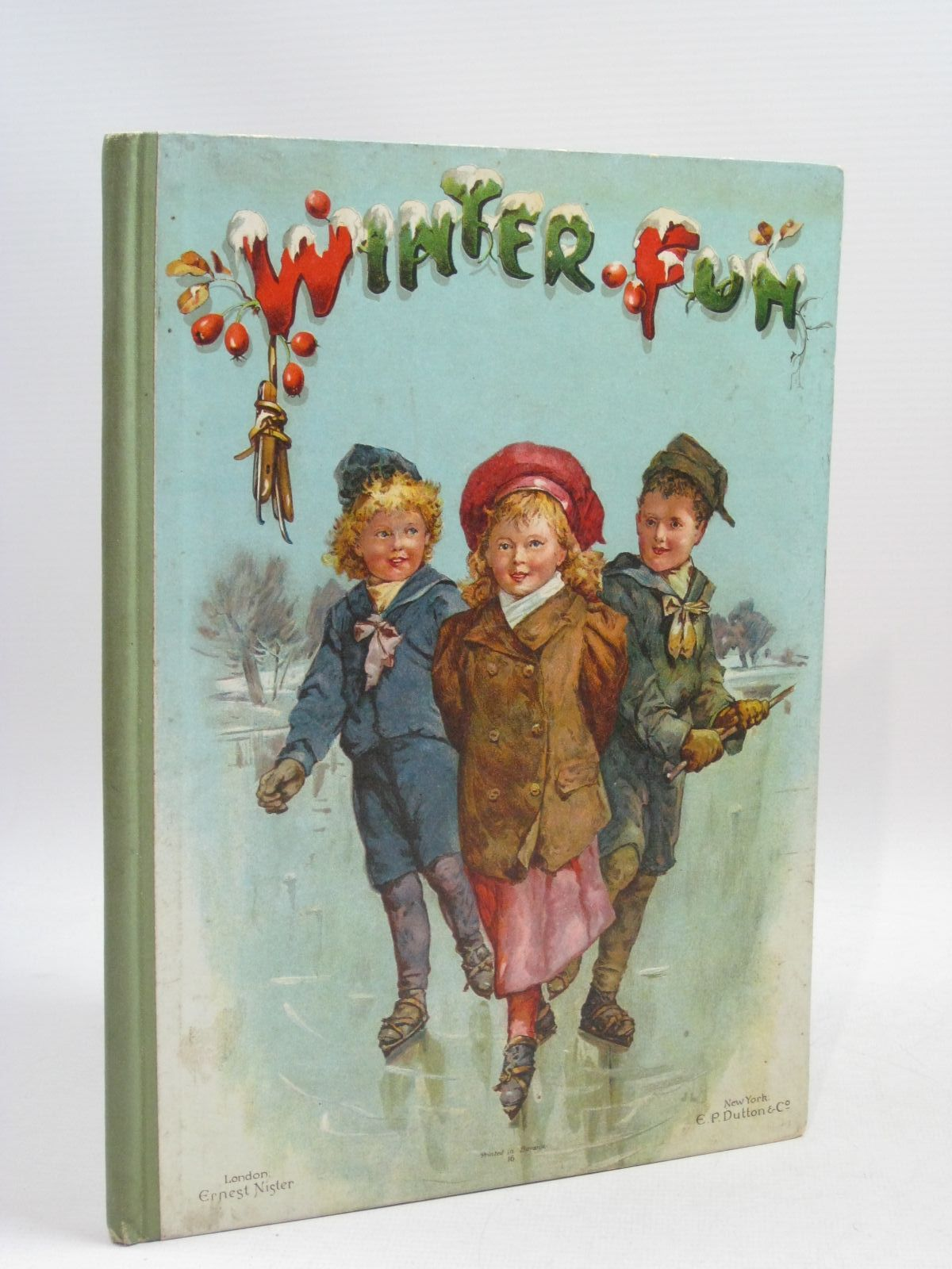 Photo of WINTER FUN published by Ernest Nister, E.P. Dutton & Co. (STOCK CODE: 1505327)  for sale by Stella & Rose's Books