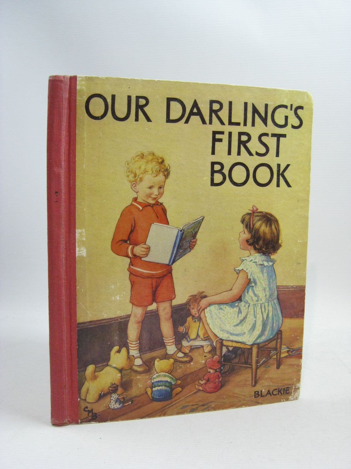 Photo of OUR DARLING'S FIRST BOOK illustrated by Barker, Cicely Mary published by Blackie & Son Ltd. (STOCK CODE: 1505338)  for sale by Stella & Rose's Books