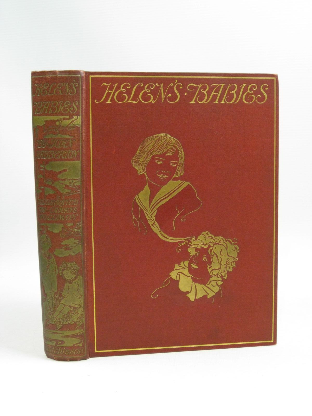 Photo of HELEN'S BABIES written by Habberton, John illustrated by Solomon, Carrie published by Hutchinson & Co. (STOCK CODE: 1505348)  for sale by Stella & Rose's Books