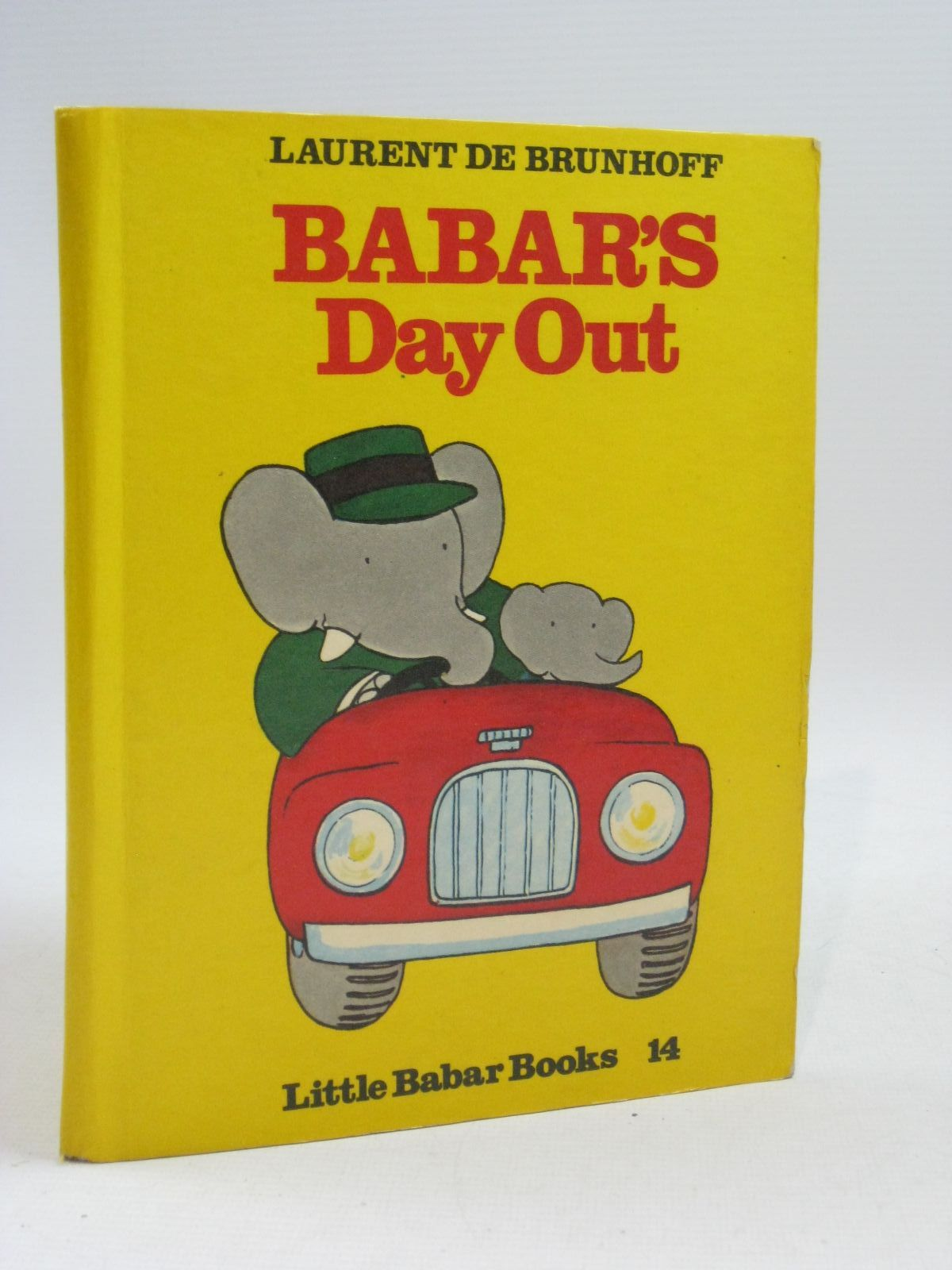 Photo of BABAR'S DAY OUT written by De Brunhoff, Laurent published by Methuen & Co. Ltd. (STOCK CODE: 1505359)  for sale by Stella & Rose's Books