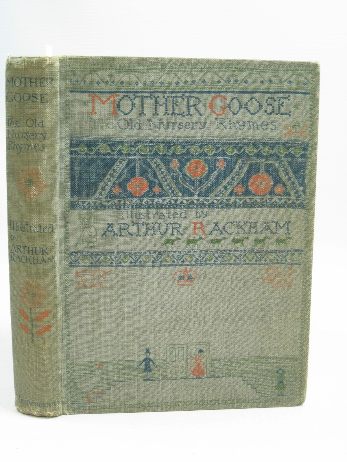 Photo of MOTHER GOOSE THE OLD NURSERY RHYMES- Stock Number: 1505375