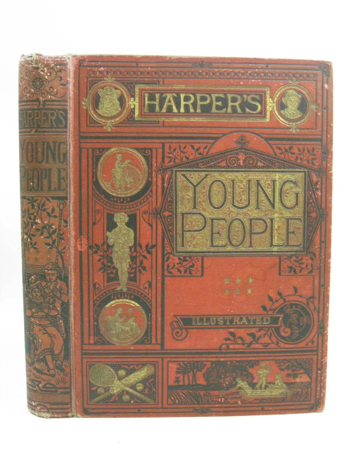 Photo of HARPER'S YOUNG PEOPLE 1890- Stock Number: 1505383