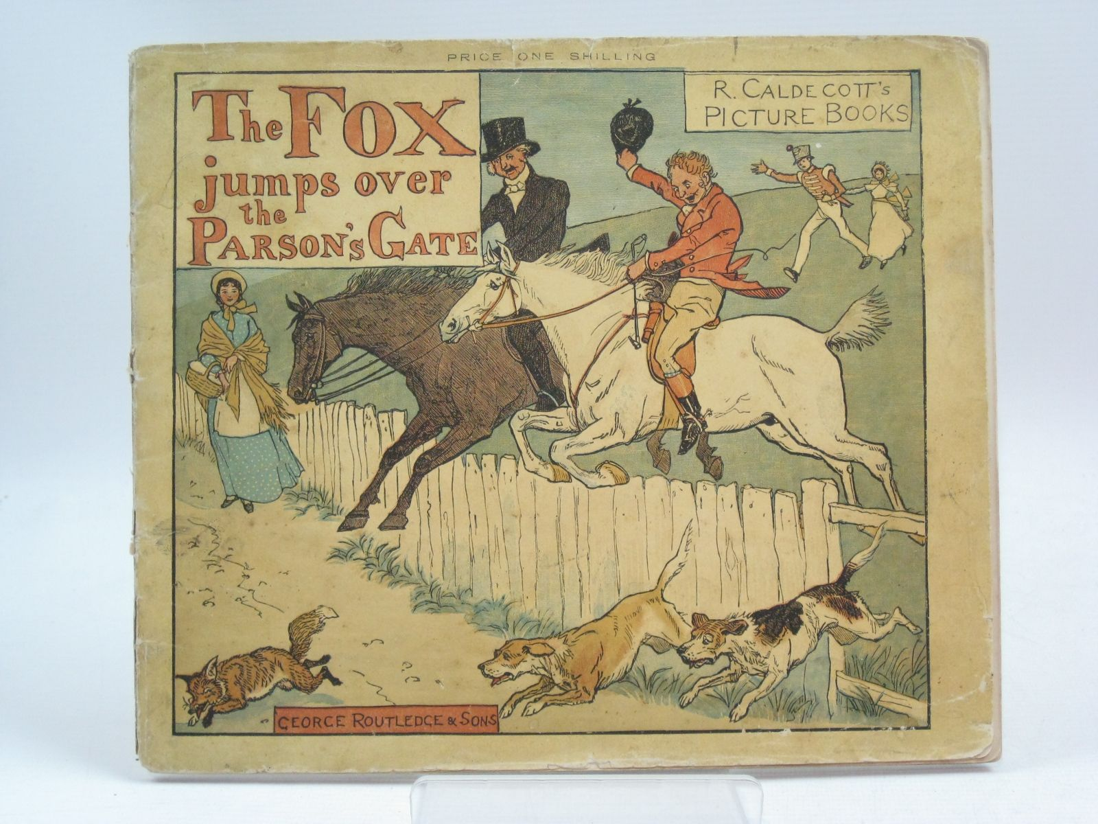 Photo of THE FOX JUMPS OVER THE PARSON'S GATE illustrated by Caldecott, Randolph published by George Routledge & Sons (STOCK CODE: 1505391)  for sale by Stella & Rose's Books