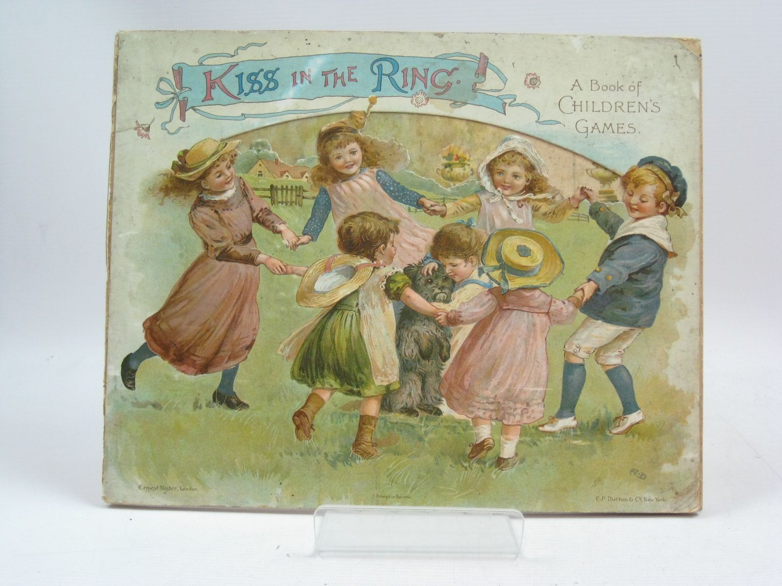 Photo of KISS IN THE RING A BOOK OF CHILDREN'S GAMES- Stock Number: 1505401