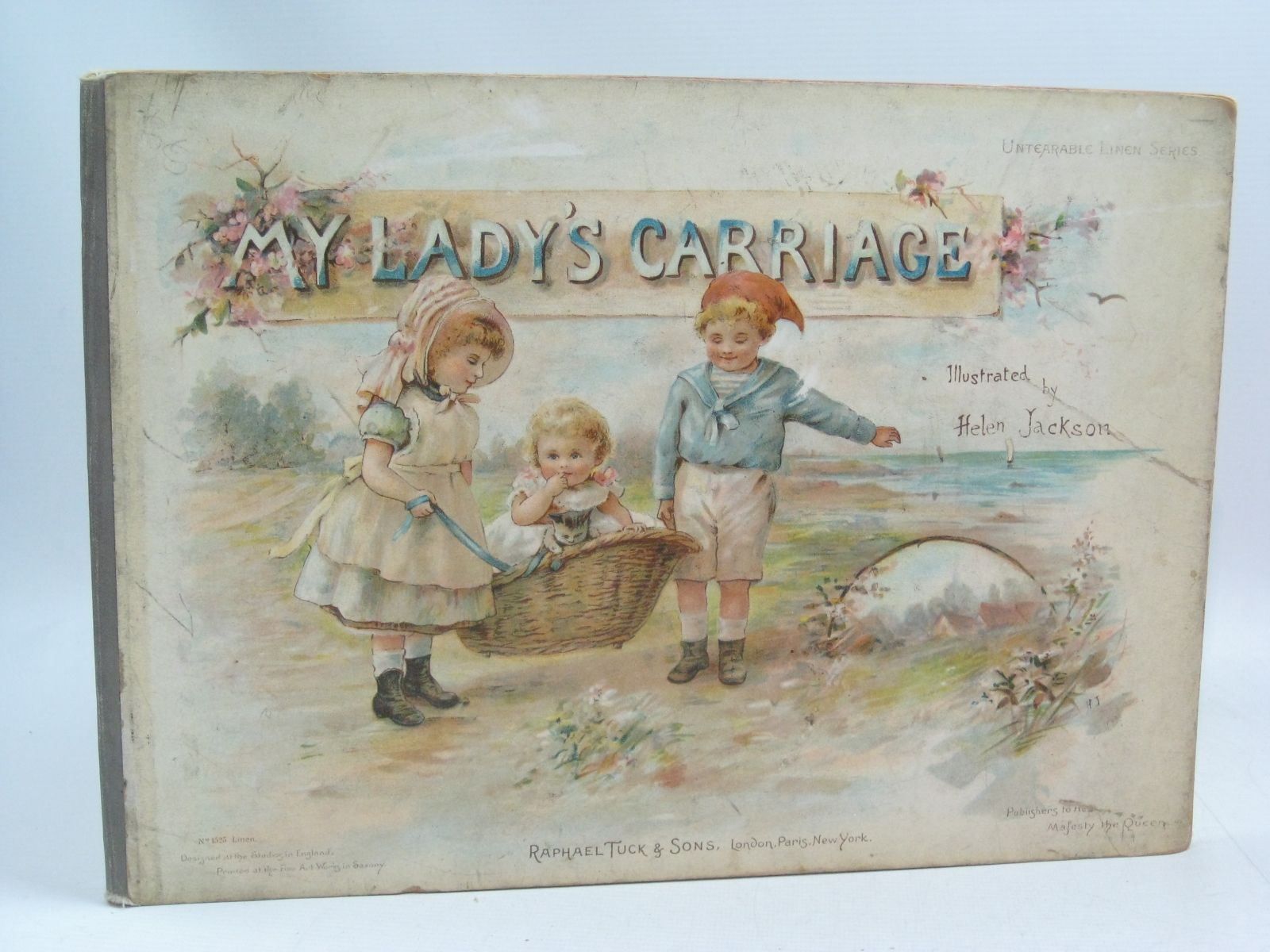 Photo of MY LADY'S CARRIAGE illustrated by Jackson, Helen published by Raphael Tuck & Sons (STOCK CODE: 1505402)  for sale by Stella & Rose's Books