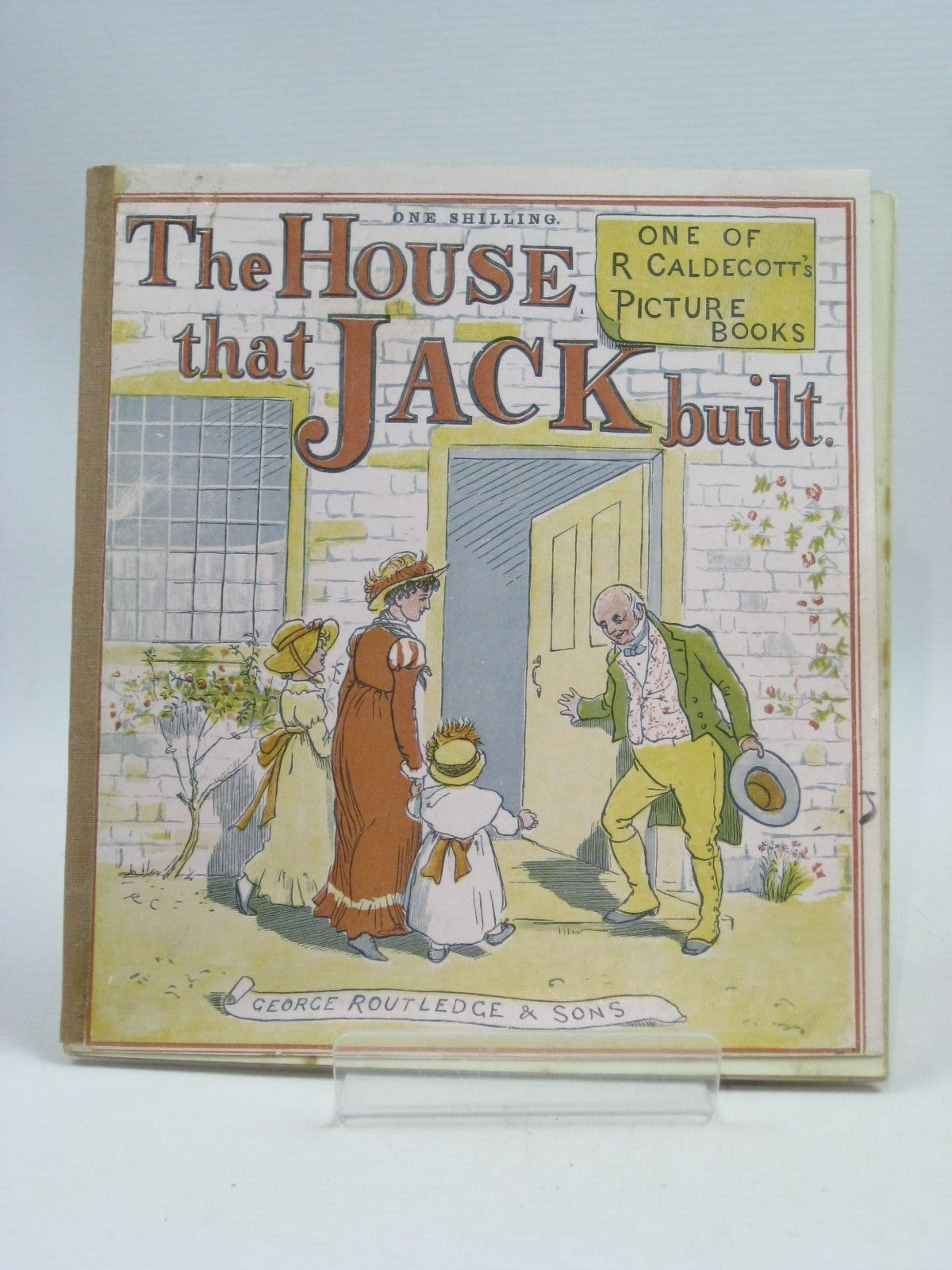 Photo of THE HOUSE THAT JACK BUILT illustrated by Caldecott, Randolph published by George Routledge & Sons (STOCK CODE: 1505431)  for sale by Stella & Rose's Books