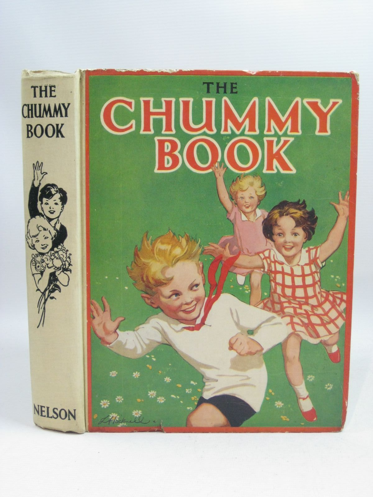 Photo of THE CHUMMY BOOK - NINETEENTH YEAR written by Chisholm, Edwin Herbertson, Agnes Grozier Russell, Dorothy Todd, Barbara Heward, Constance et al, illustrated by Tayler, Laurie Lloyd, Stanley et al., published by Thomas Nelson and Sons Ltd. (STOCK CODE: 1505438)  for sale by Stella & Rose's Books
