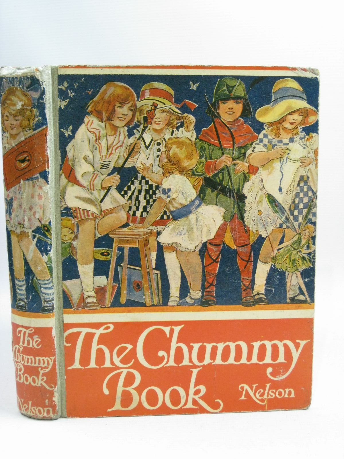 Photo of THE CHUMMY BOOK - EIGHTH YEAR written by Chisholm, Edwin<br />Brazil, Angela<br />Talbot, Ethel<br />Whipple, Amy<br />et al, illustrated by Blampied, Edmund<br />Attwell, Mabel Lucie<br />Fraser, Peter<br />Anderson, Anne<br />et al., published by Thomas Nelson and Sons Ltd. (STOCK CODE: 1505439)  for sale by Stella & Rose's Books