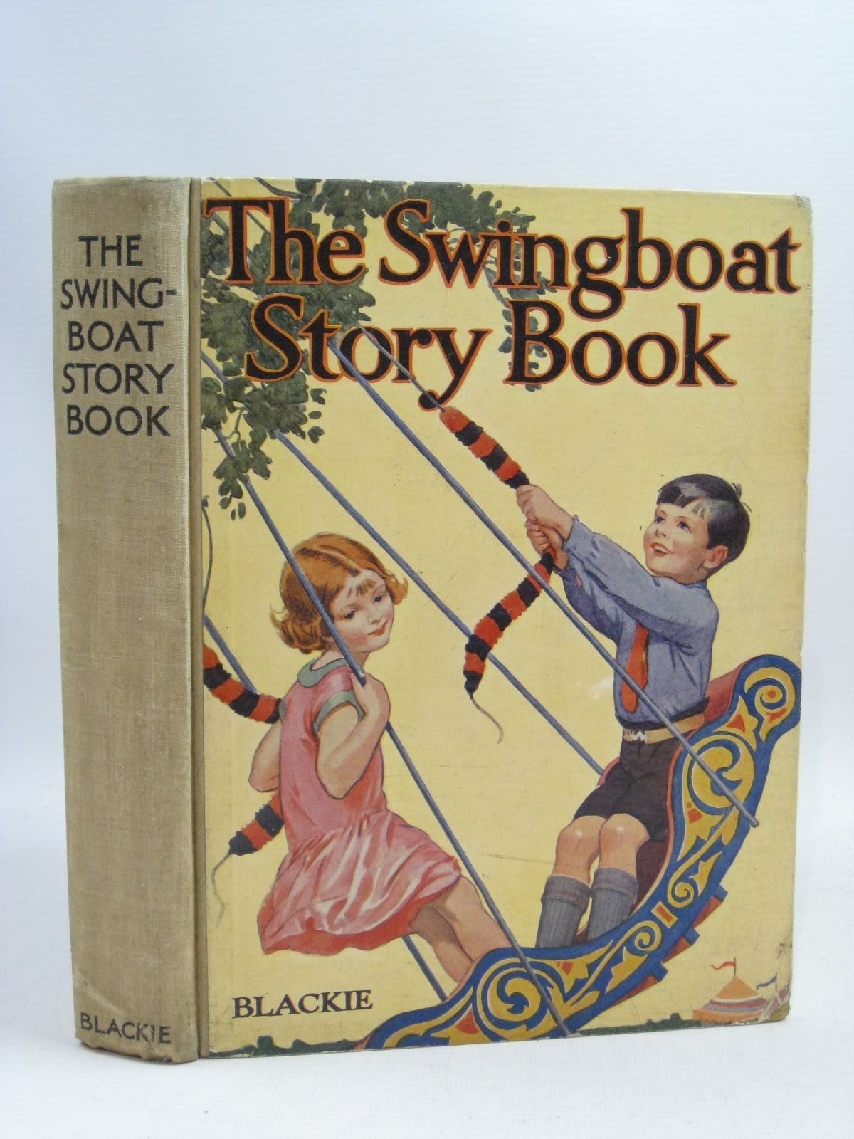 Photo of THE SWINGBOAT STORY BOOK written by Simeon, Eleanor B.<br />Uttley, Alison<br />Pope, Jessie<br />et al, illustrated by Brisley, Nina K.<br />Appleton, Honor C.<br />Rountree, Harry<br />Robinson, Gordon<br />Beaman, S.G. Hulme<br />et al., published by Blackie &amp; Son Ltd. (STOCK CODE: 1505447)  for sale by Stella & Rose's Books