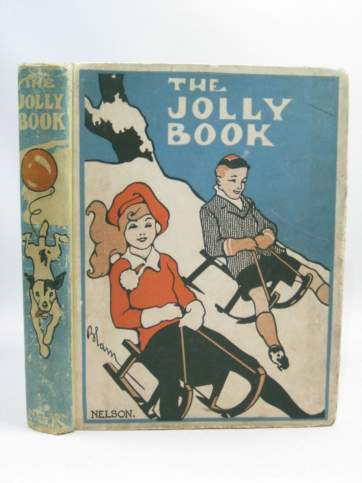Photo of THE JOLLY BOOK - TWELFTH YEAR written by Chisholm, Edwin Shrewsbury, Mary Owsley, Sibyl B. Avery, Harold et al, illustrated by Blampied, Edmund Earnshaw, Harold Wood, Lawson Fraser, Peter Studdy, G.E. et al., published by Thomas Nelson and Sons Ltd. (STOCK CODE: 1505449)  for sale by Stella & Rose's Books