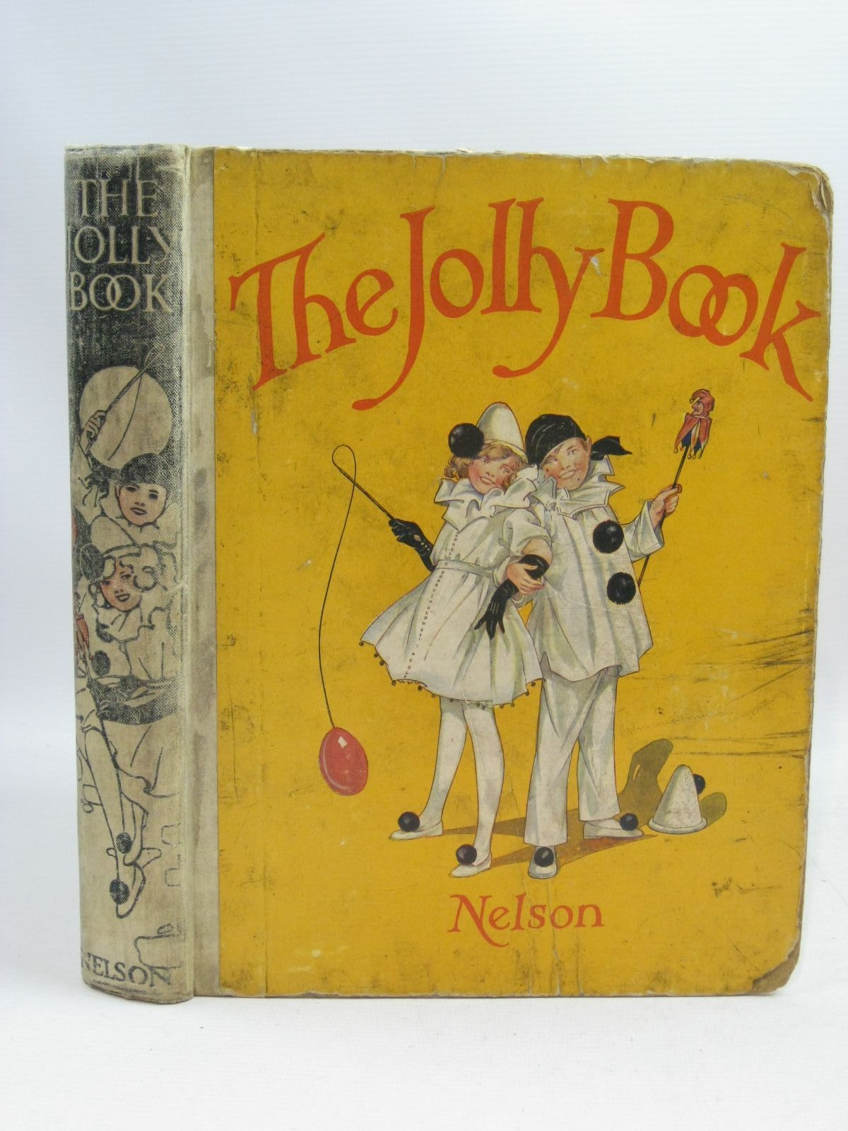 Photo of THE JOLLY BOOK - TENTH YEAR written by Chisholm, Edwin<br />Brazil, Angela<br />Heward, Constance<br />Scott-Hopper, Queenie<br />et al, illustrated by Studdy, G.E.<br />Earnshaw, Harold<br />Wood, Lawson<br />Anderson, Anne<br />et al., published by Thomas Nelson and Sons Ltd. (STOCK CODE: 1505451)  for sale by Stella & Rose's Books