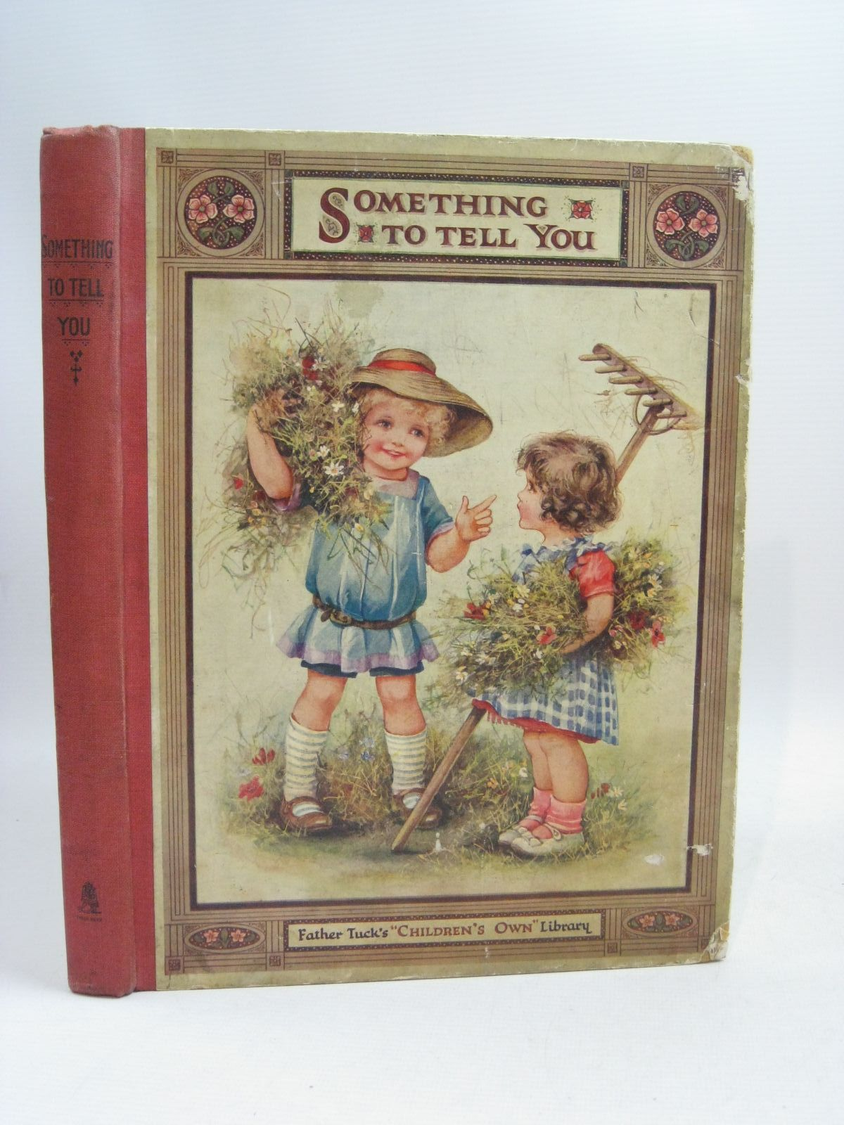 Photo of SOMETHING TO TELL YOU written by Vredenburg, Edric Floyd, Grace C. Holmes, Lilian et al, illustrated by Bowley, M. Bowley, A.L. Cowham, Hilda Peart, M.A. et al., published by Raphael Tuck & Sons Ltd. (STOCK CODE: 1505485)  for sale by Stella & Rose's Books