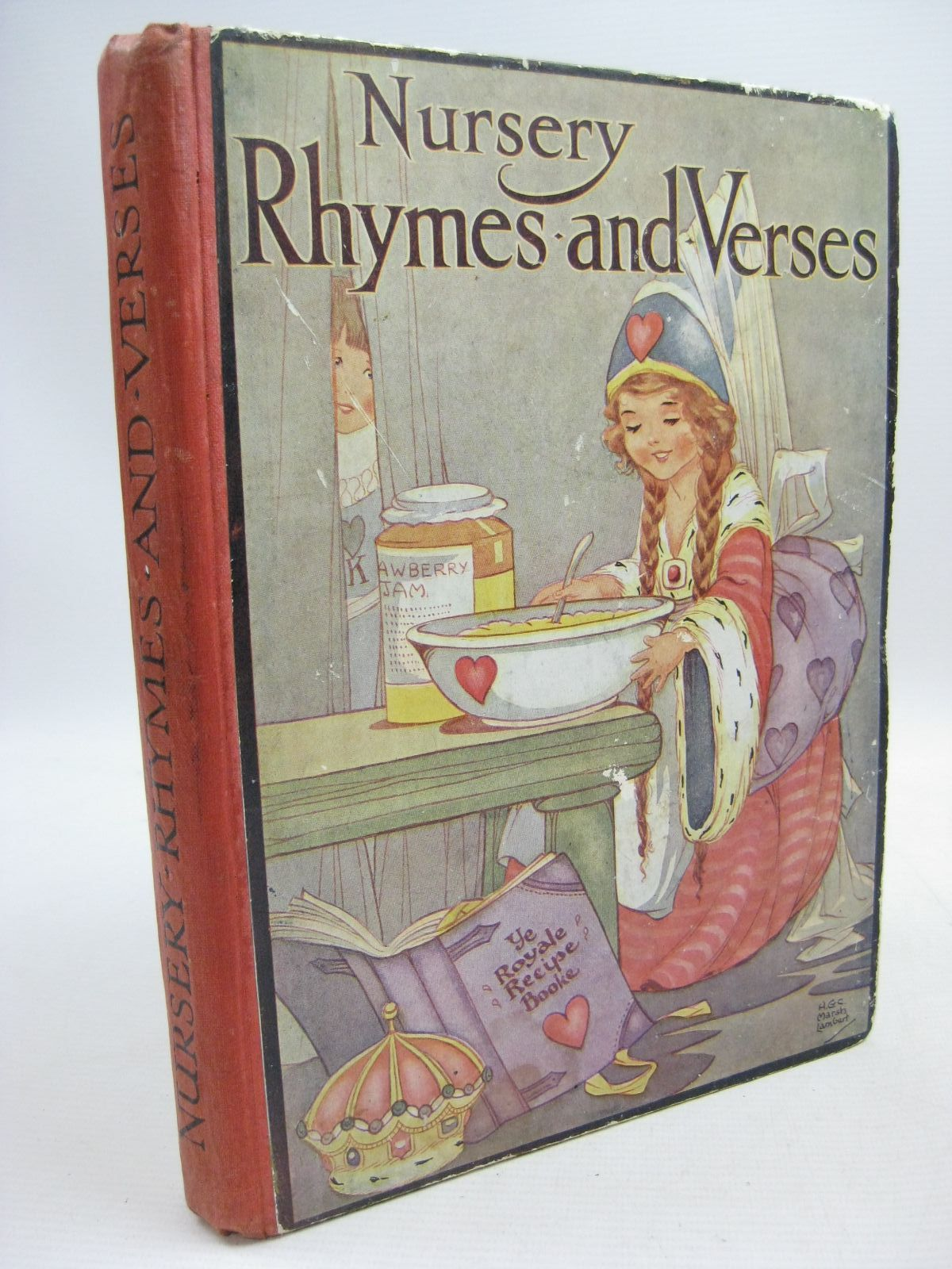 Photo of NURSERY RHYMES AND VERSES illustrated by Lambert, H.G.C. Marsh Brisley, Nina K. published by Ward, Lock & Co. Limited (STOCK CODE: 1505499)  for sale by Stella & Rose's Books