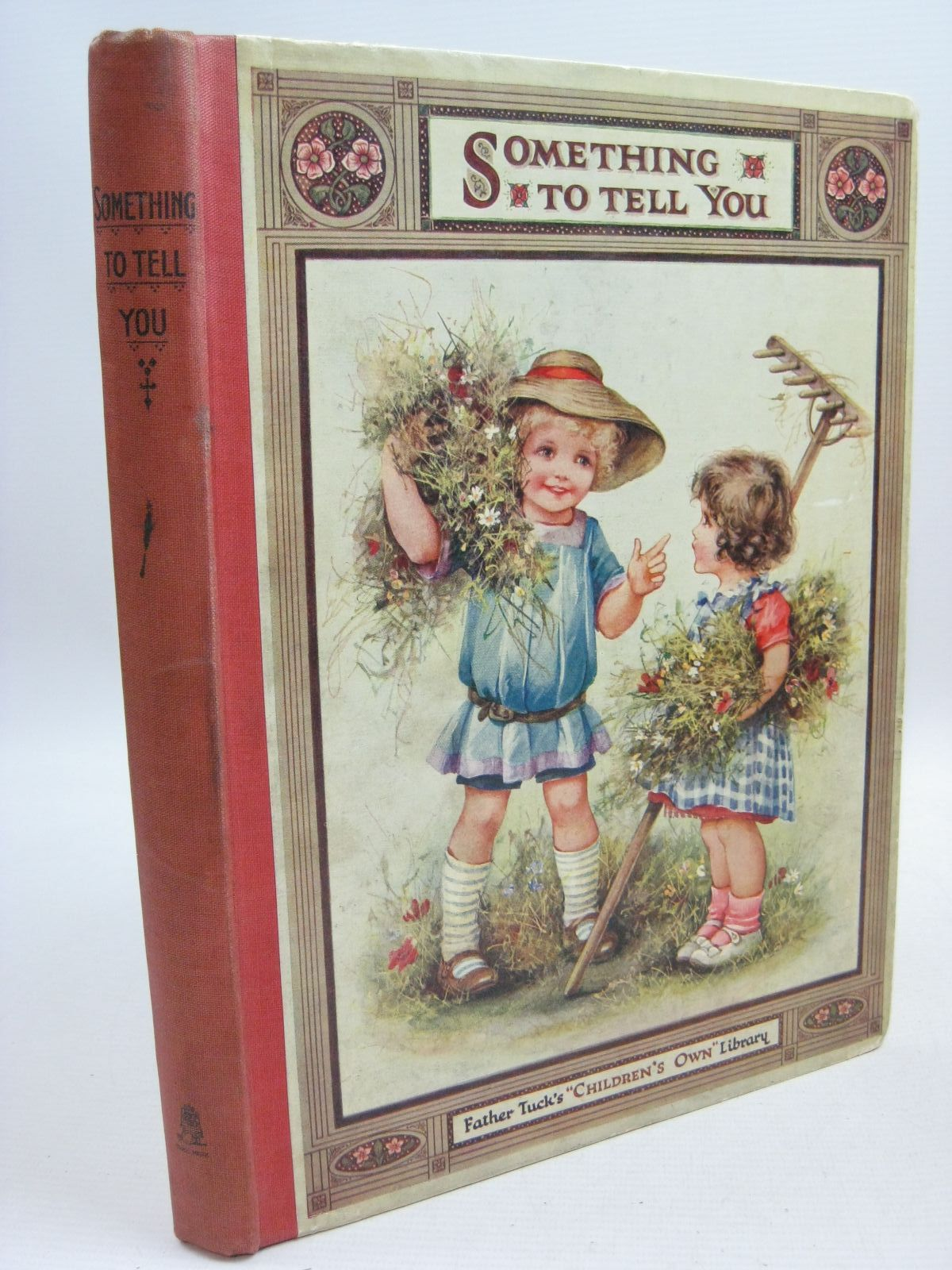 Photo of SOMETHING TO TELL YOU written by Vredenburg, Edric Floyd, Grace C. Holmes, Lilian et al, illustrated by Bowley, M. Bowley, A.L. Cowham, Hilda Peart, M.A. et al., published by Raphael Tuck & Sons Ltd. (STOCK CODE: 1505510)  for sale by Stella & Rose's Books