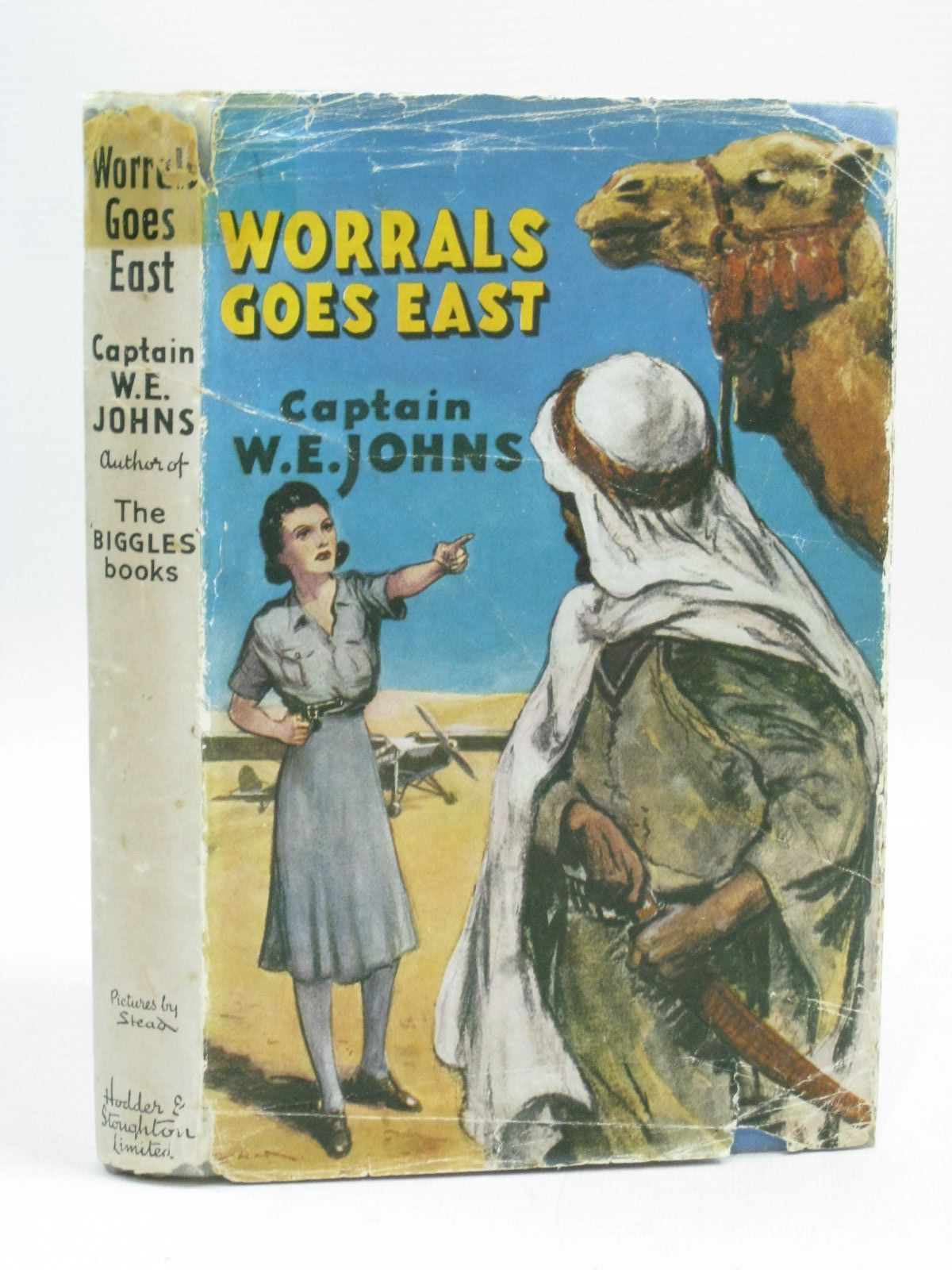Photo of WORRALS GOES EAST written by Johns, W.E. illustrated by Stead,  published by Hodder & Stoughton (STOCK CODE: 1505588)  for sale by Stella & Rose's Books