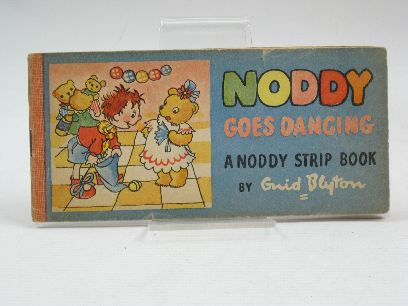 Photo of NODDY GOES DANCING written by Blyton, Enid illustrated by Beek,  published by Sampson Low, Marston & Co. Ltd. (STOCK CODE: 1505644)  for sale by Stella & Rose's Books