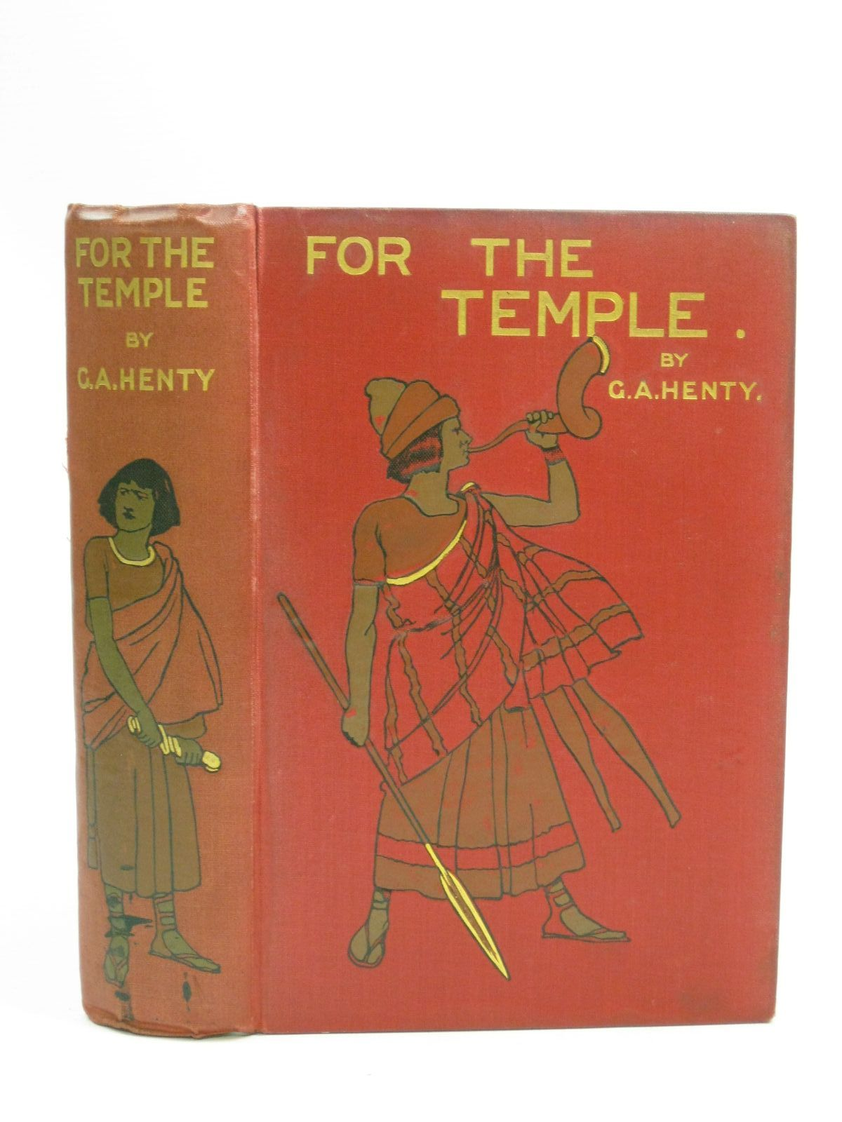 Photo of FOR THE TEMPLE written by Henty, G.A. illustrated by Solomon, Solomon J. published by Blackie & Son Ltd. (STOCK CODE: 1505736)  for sale by Stella & Rose's Books