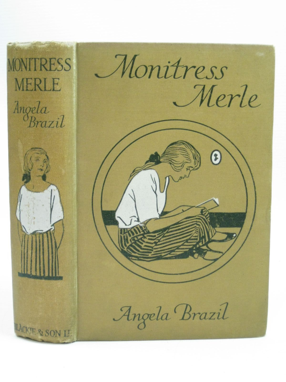 Photo of MONITRESS MERLE written by Brazil, Angela illustrated by Evans, Treyer published by Blackie & Son Ltd. (STOCK CODE: 1505750)  for sale by Stella & Rose's Books