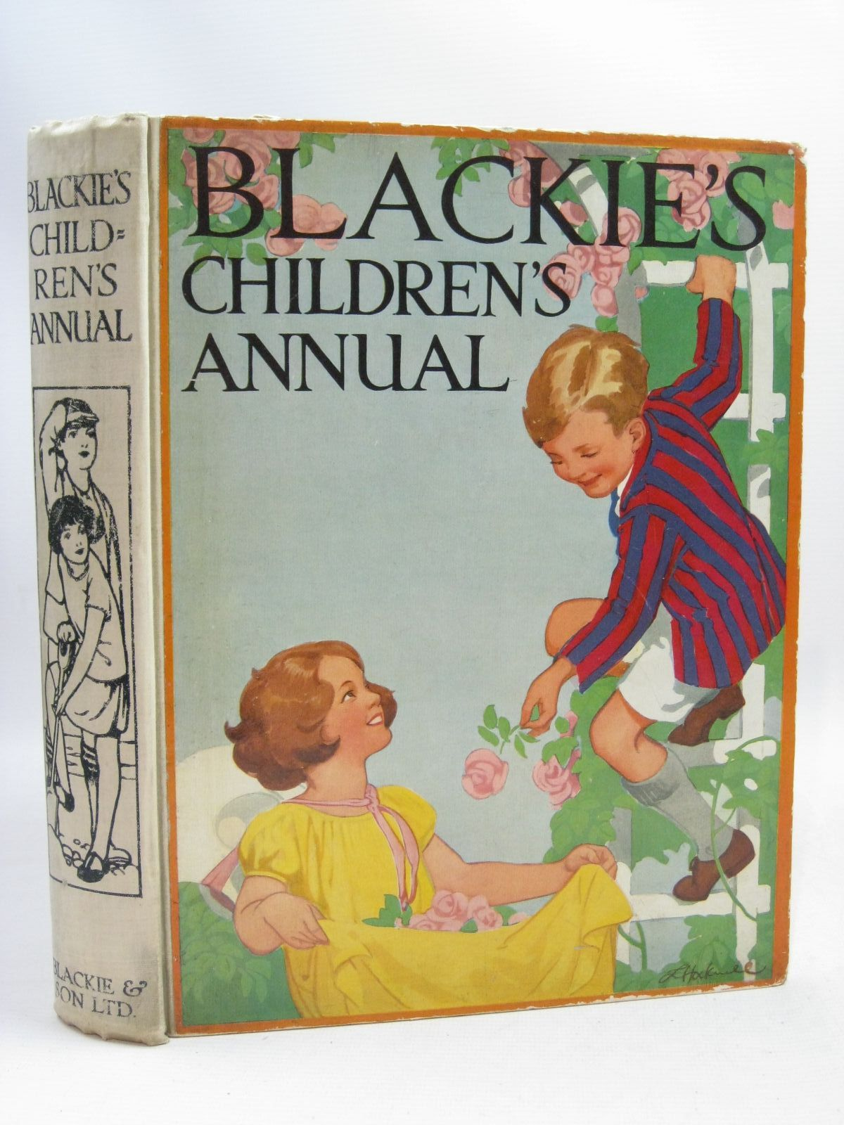 Photo of BLACKIE'S CHILDREN'S ANNUAL 24TH YEAR written by Barnes, Madeline Talbot, Ethel Joan, Natalie et al,  illustrated by Barker, Cicely Mary Adams, Frank Petherick, Rosa C. Brisley, Nina K. et al.,  published by Blackie & Son Ltd. (STOCK CODE: 1505800)  for sale by Stella & Rose's Books