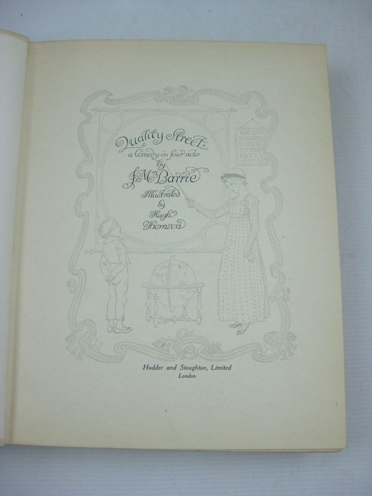 Photo of QUALITY STREET written by Barrie, J.M. illustrated by Thomson, Hugh published by Hodder & Stoughton (STOCK CODE: 1505881)  for sale by Stella & Rose's Books
