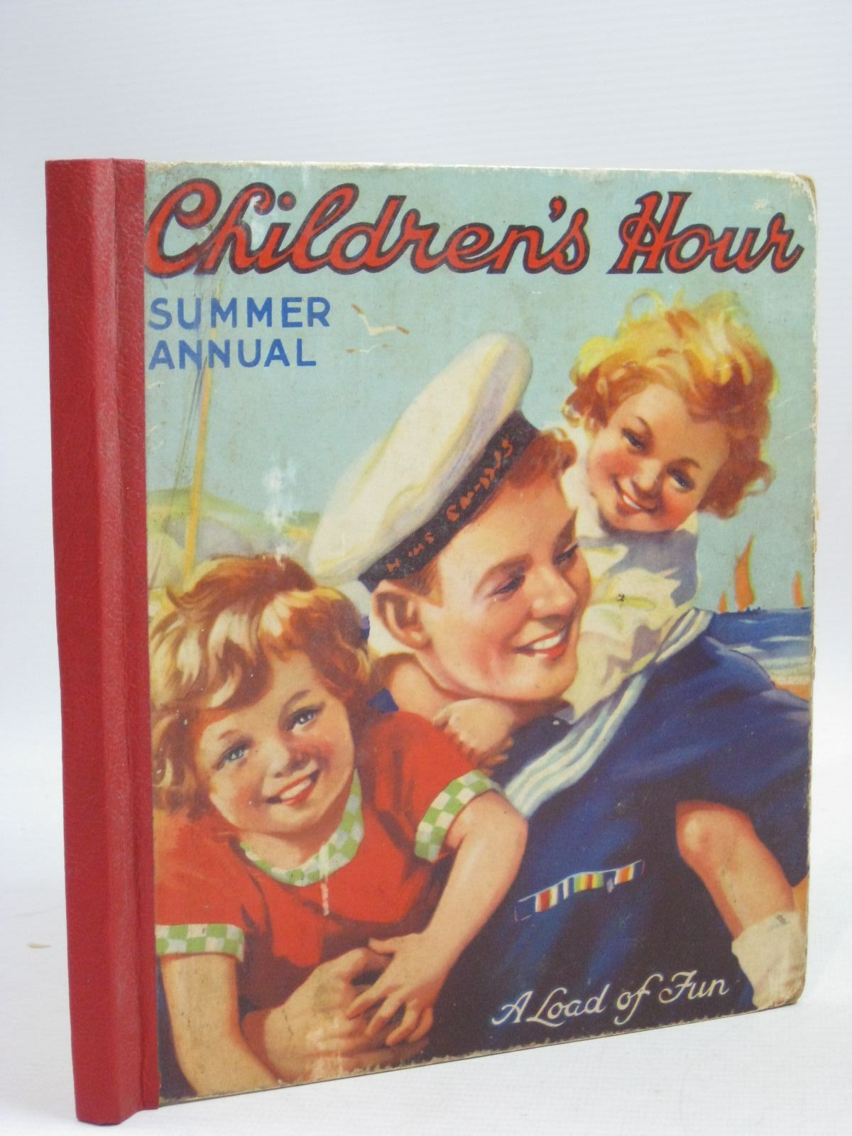 Photo of CHILDREN'S HOUR SUMMER ANNUAL illustrated by Richardson, Agnes (STOCK CODE: 1505888)  for sale by Stella & Rose's Books