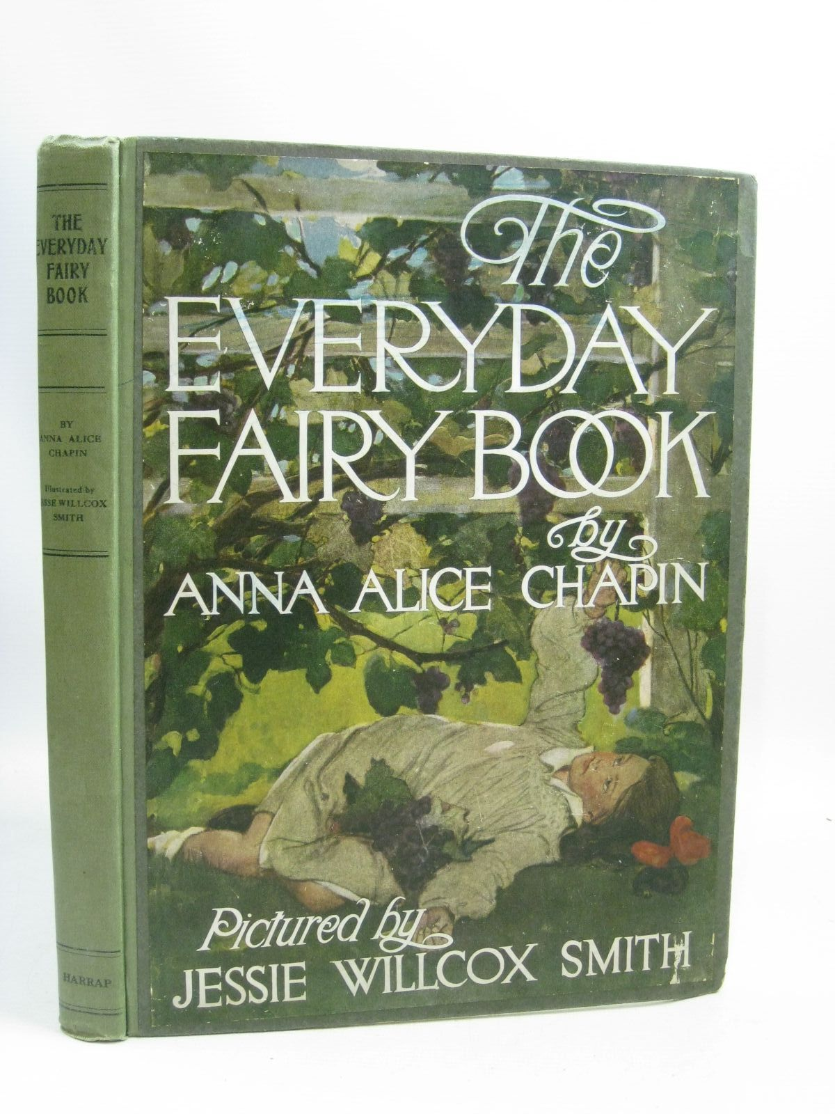 Photo of THE EVERYDAY FAIRY BOOK written by Chapin, Anna Alice illustrated by Smith, Jessie Willcox published by George G. Harrap & Co. Ltd. (STOCK CODE: 1505962)  for sale by Stella & Rose's Books