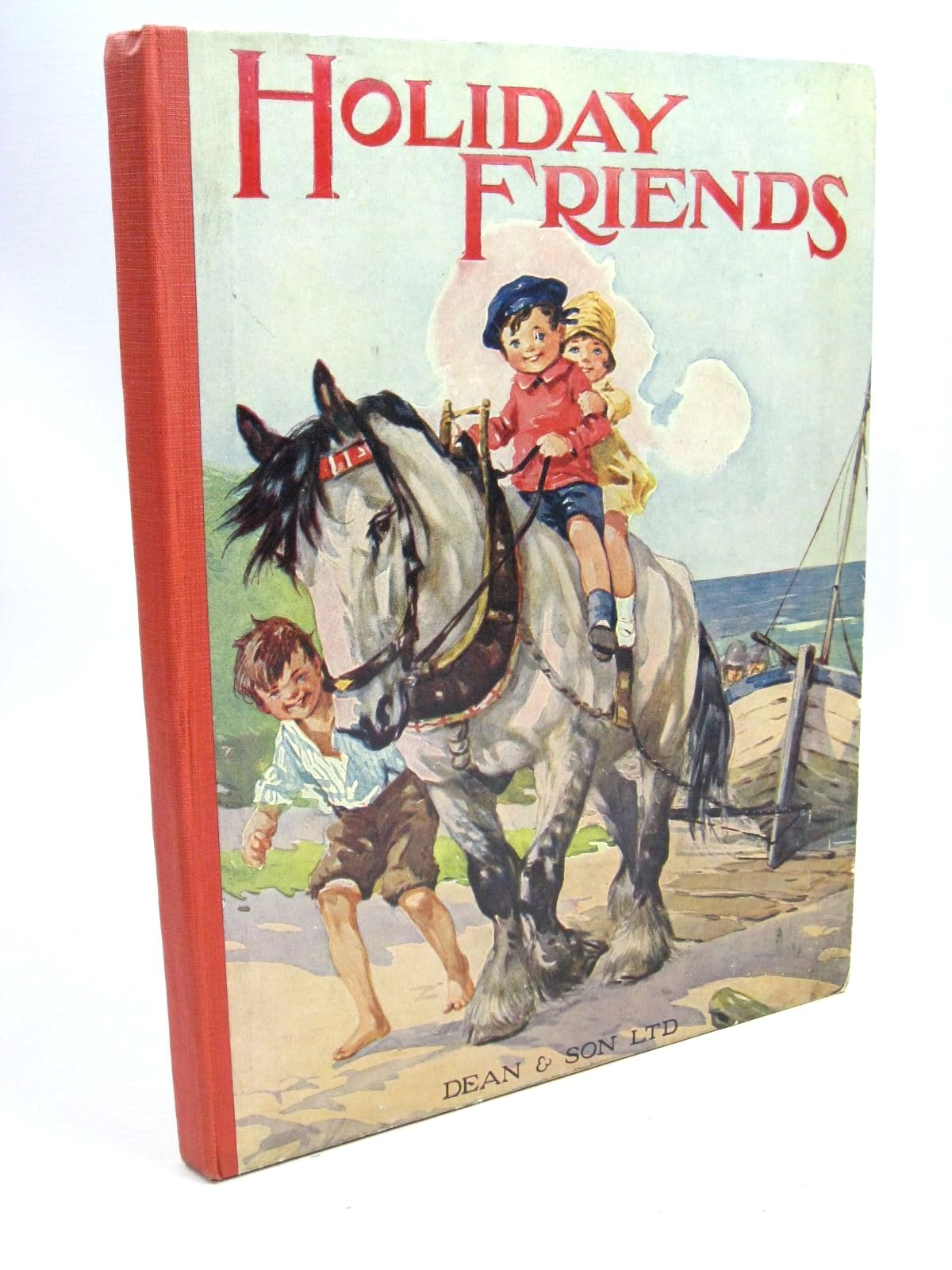 Photo of HOLIDAY FRIENDS written by Kennedy, Leslie illustrated by Kennedy, A.E. published by Dean & Son Ltd. (STOCK CODE: 1505967)  for sale by Stella & Rose's Books
