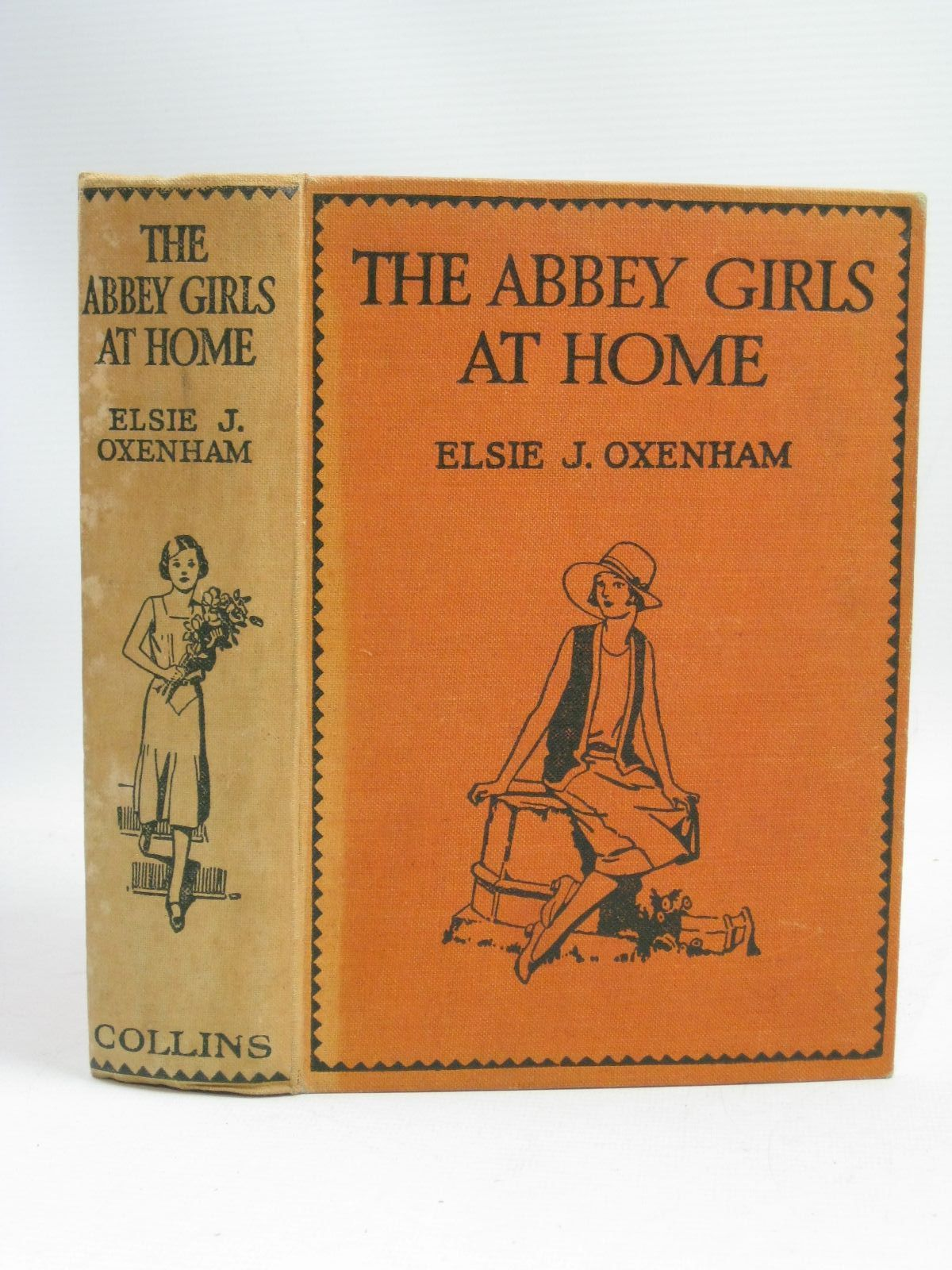 Photo of THE ABBEY GIRLS AT HOME written by Oxenham, Elsie J. published by Collins Clear-Type Press (STOCK CODE: 1506015)  for sale by Stella & Rose's Books